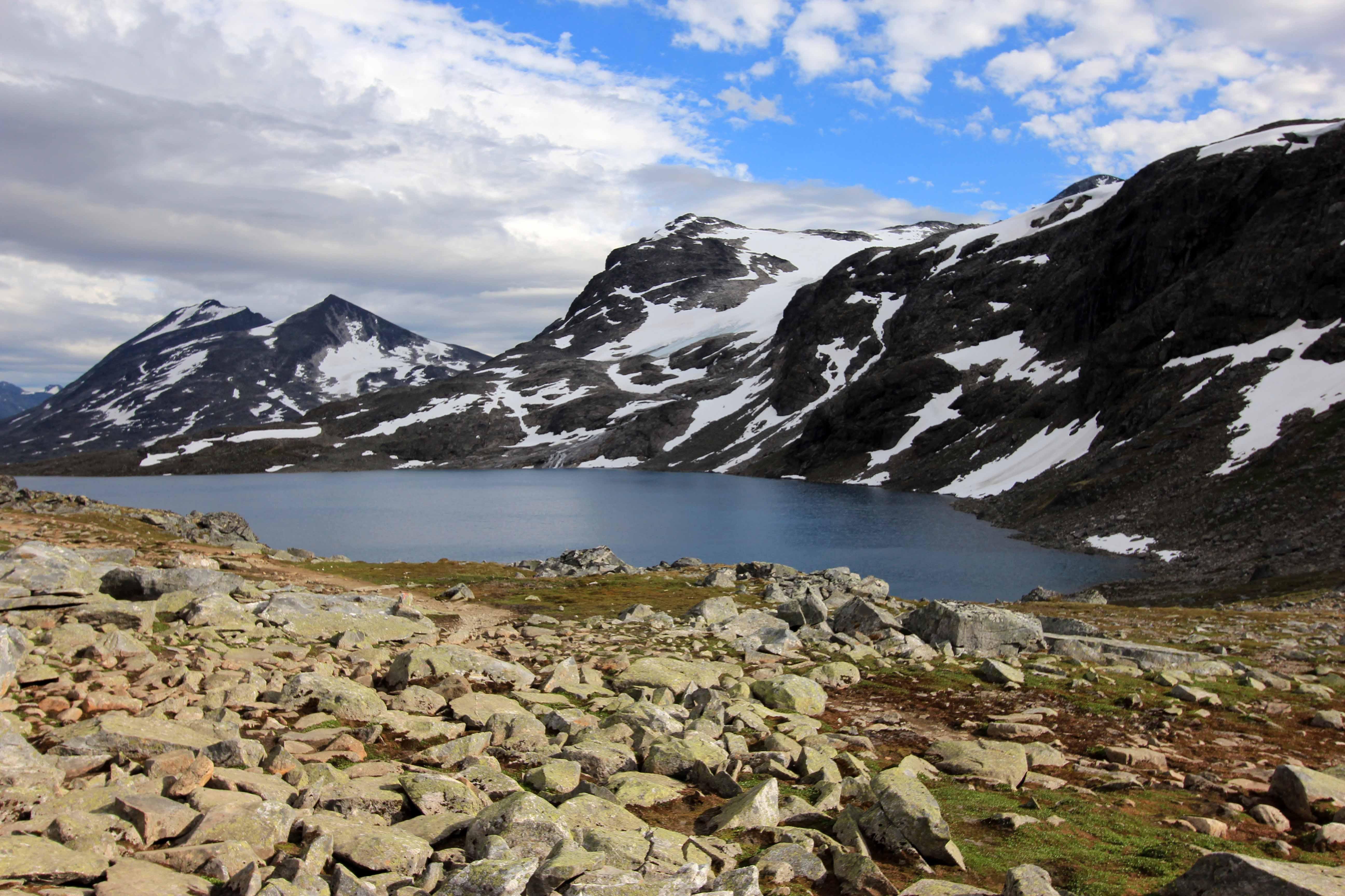 Kostenlose Foto Norwegen Wildnis Berg Tarn Bergige Landforms