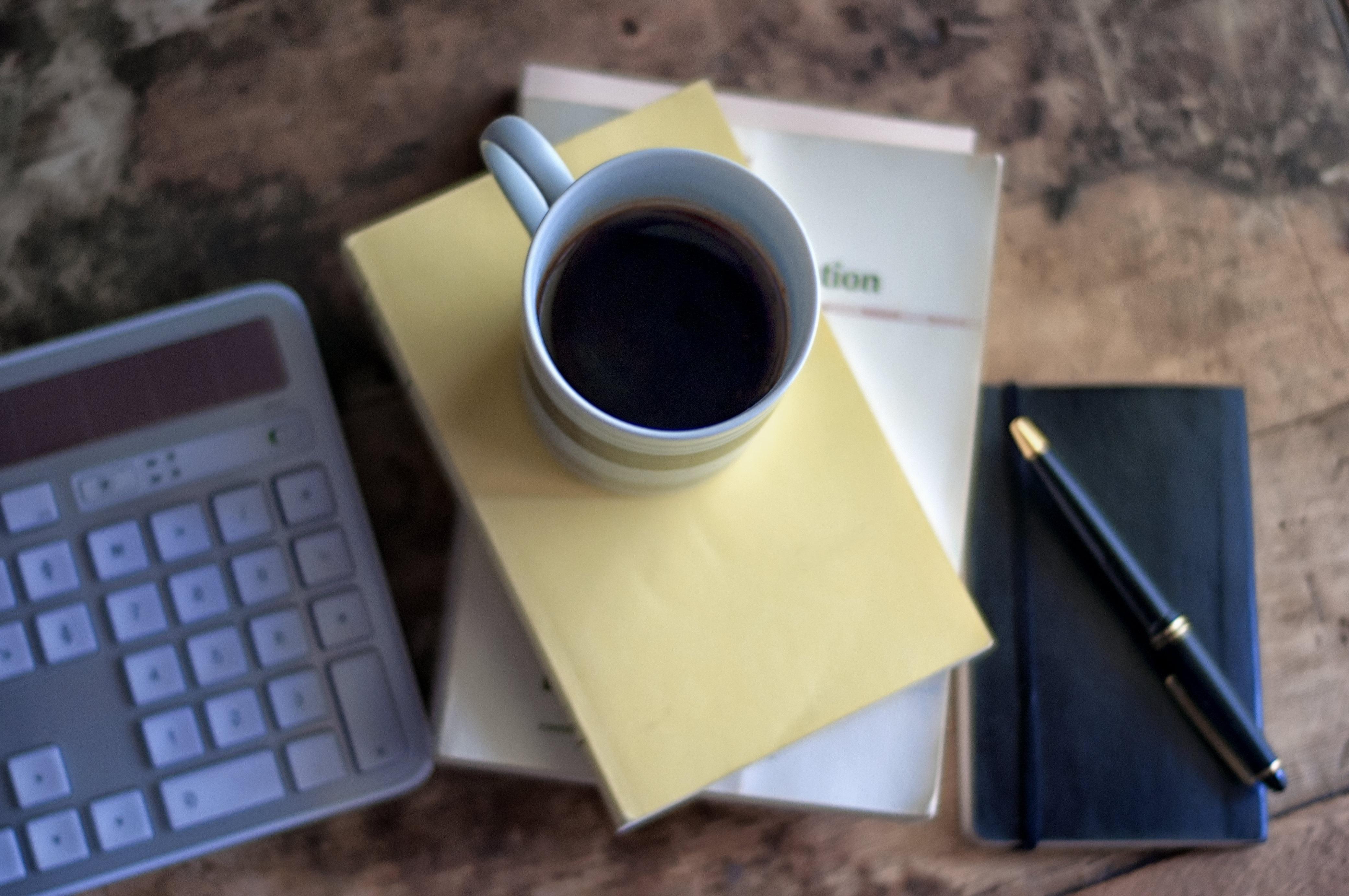 free images notebook computer writing work keyboard pen business mobile phone home. Black Bedroom Furniture Sets. Home Design Ideas