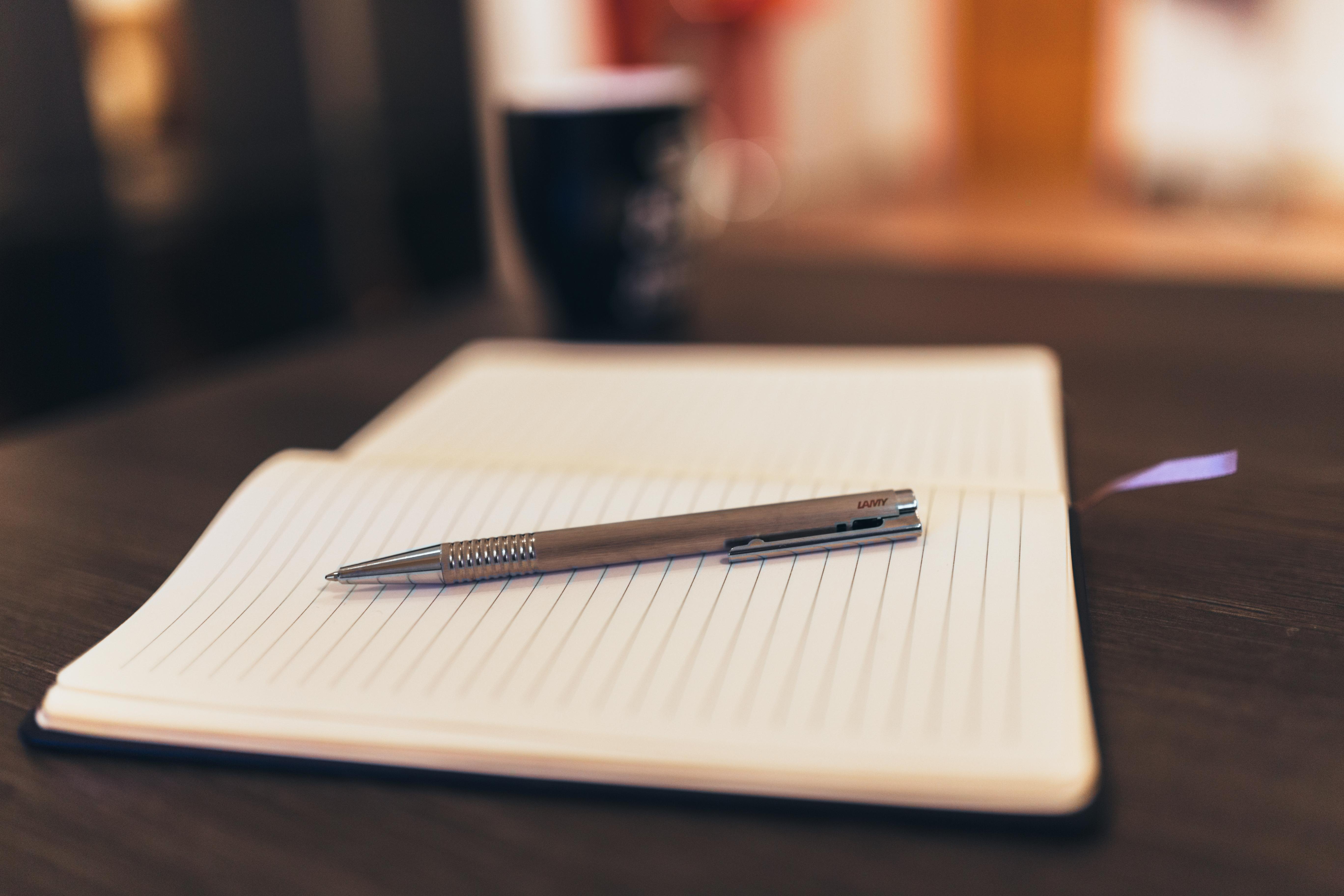 writing notebook