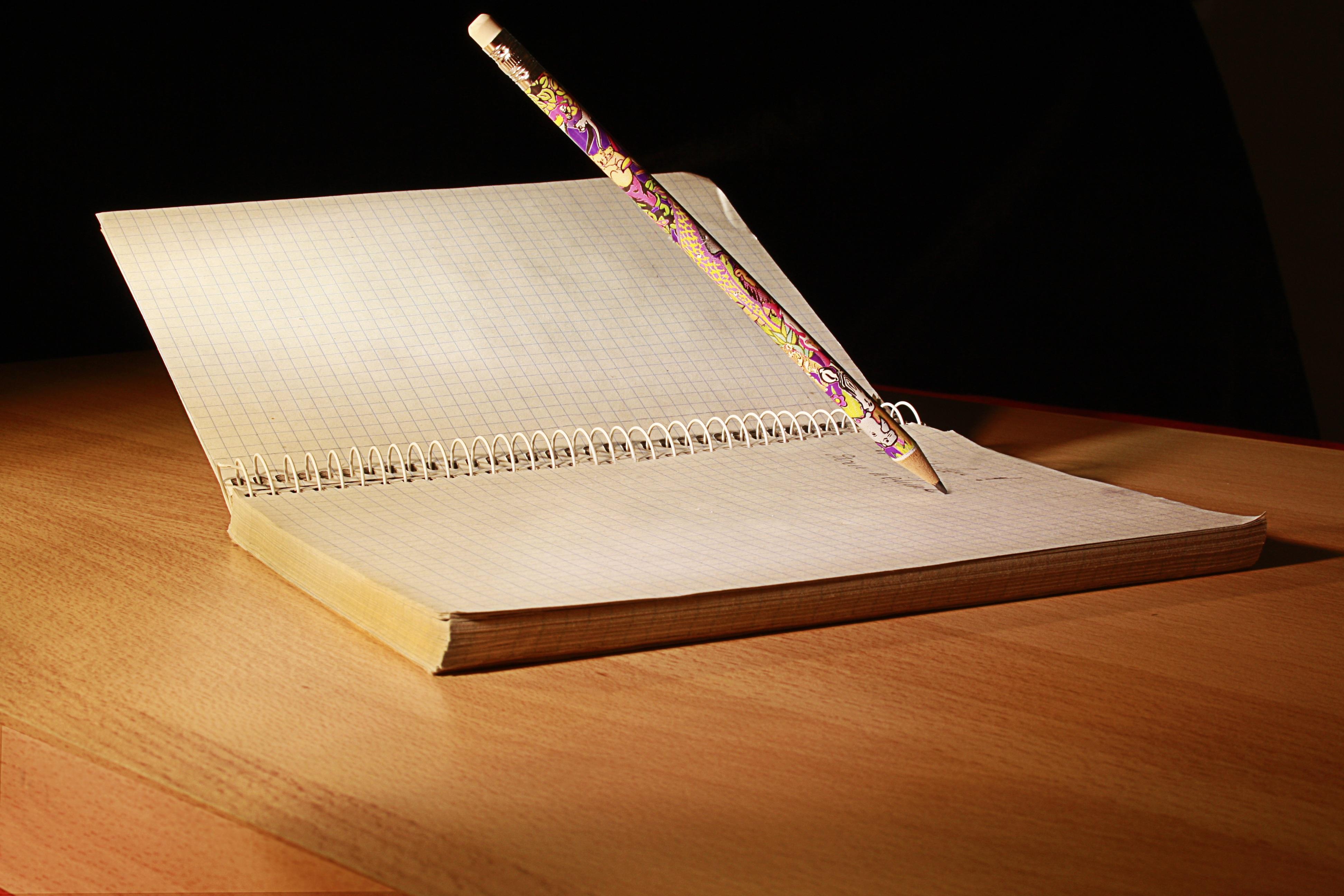 Populaire Images Gratuites : carnet, l'écriture, livre, bois, stylo, journal  QC87