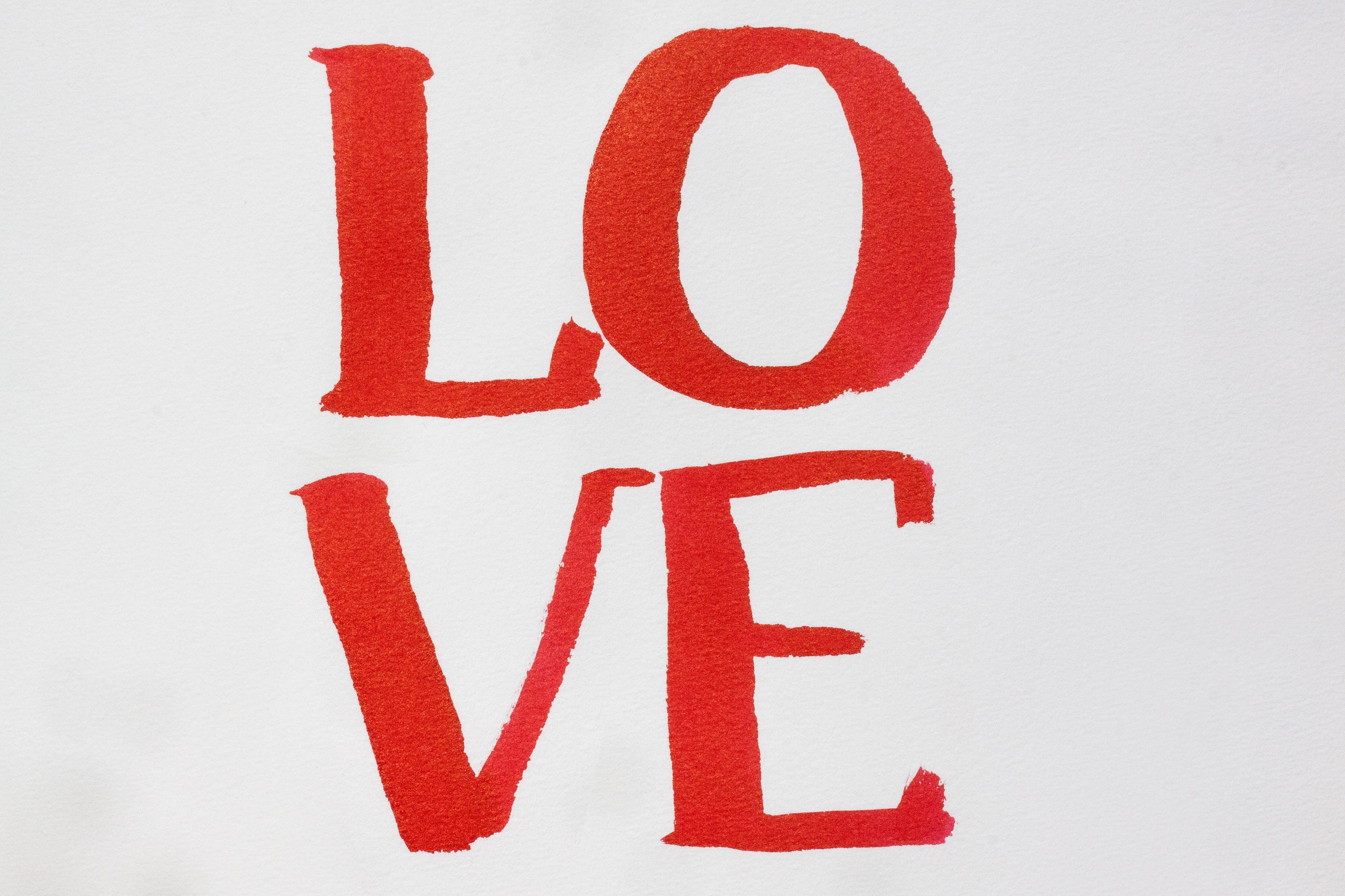 Gambar Jumlah Sikat Cinta Merah Cat Air Produk Fon