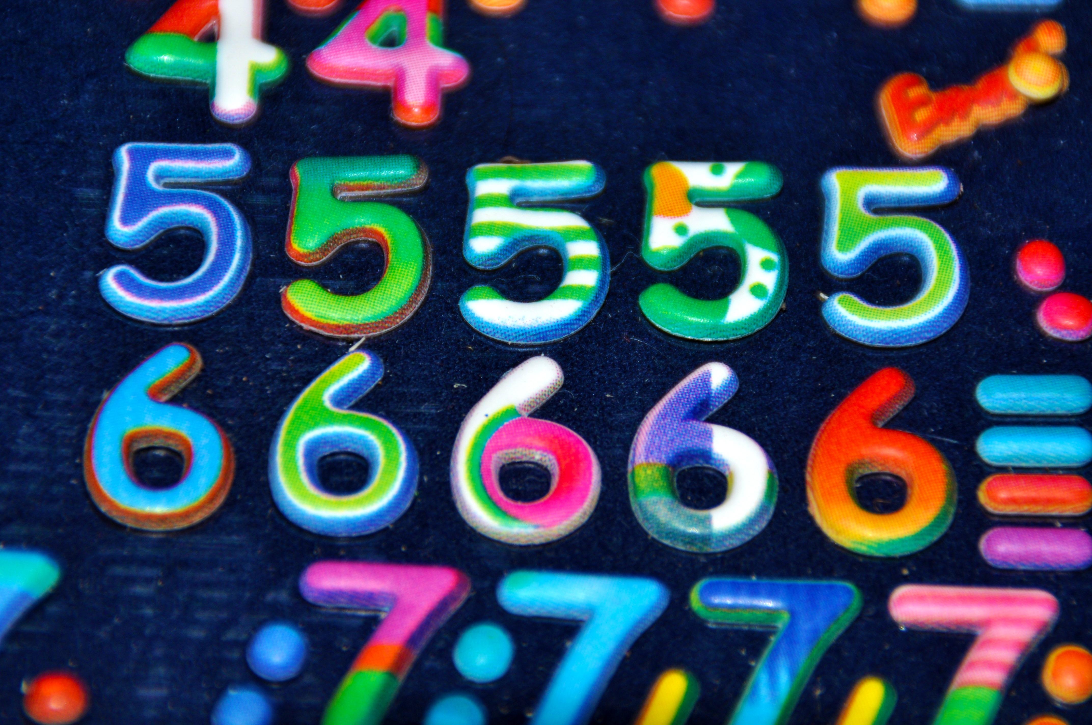 Fotos Gratis : Número, Comida, Color, Azul, Postre