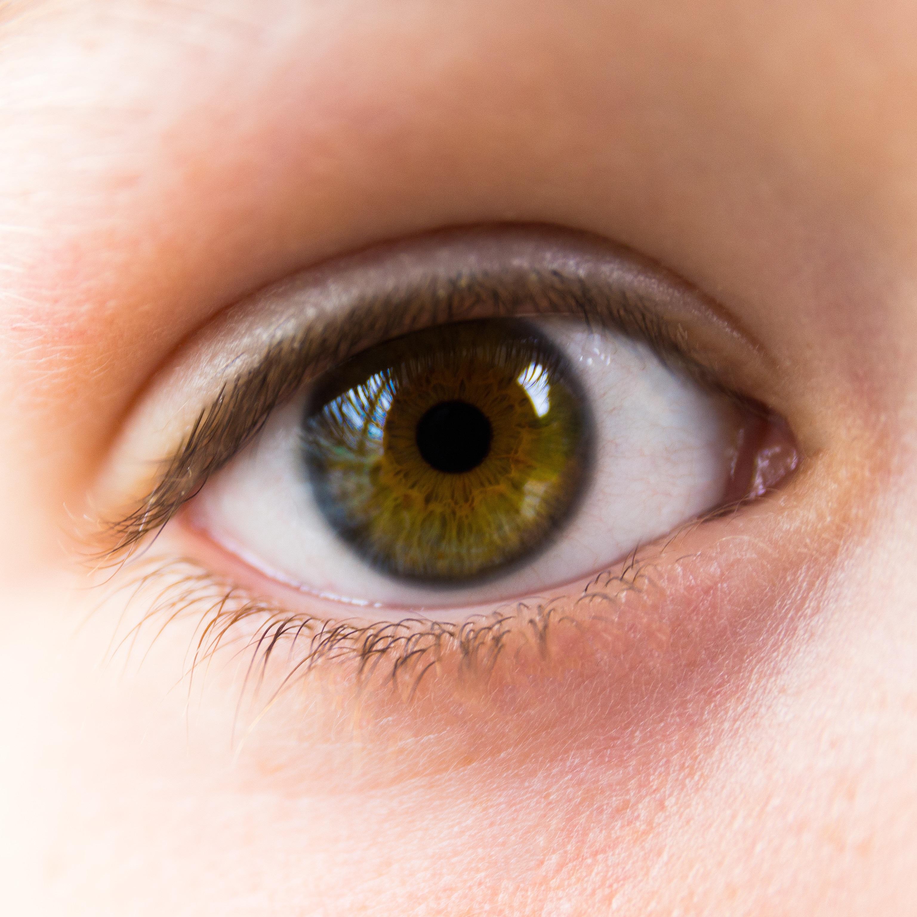 Açık Kahverengi Gözler