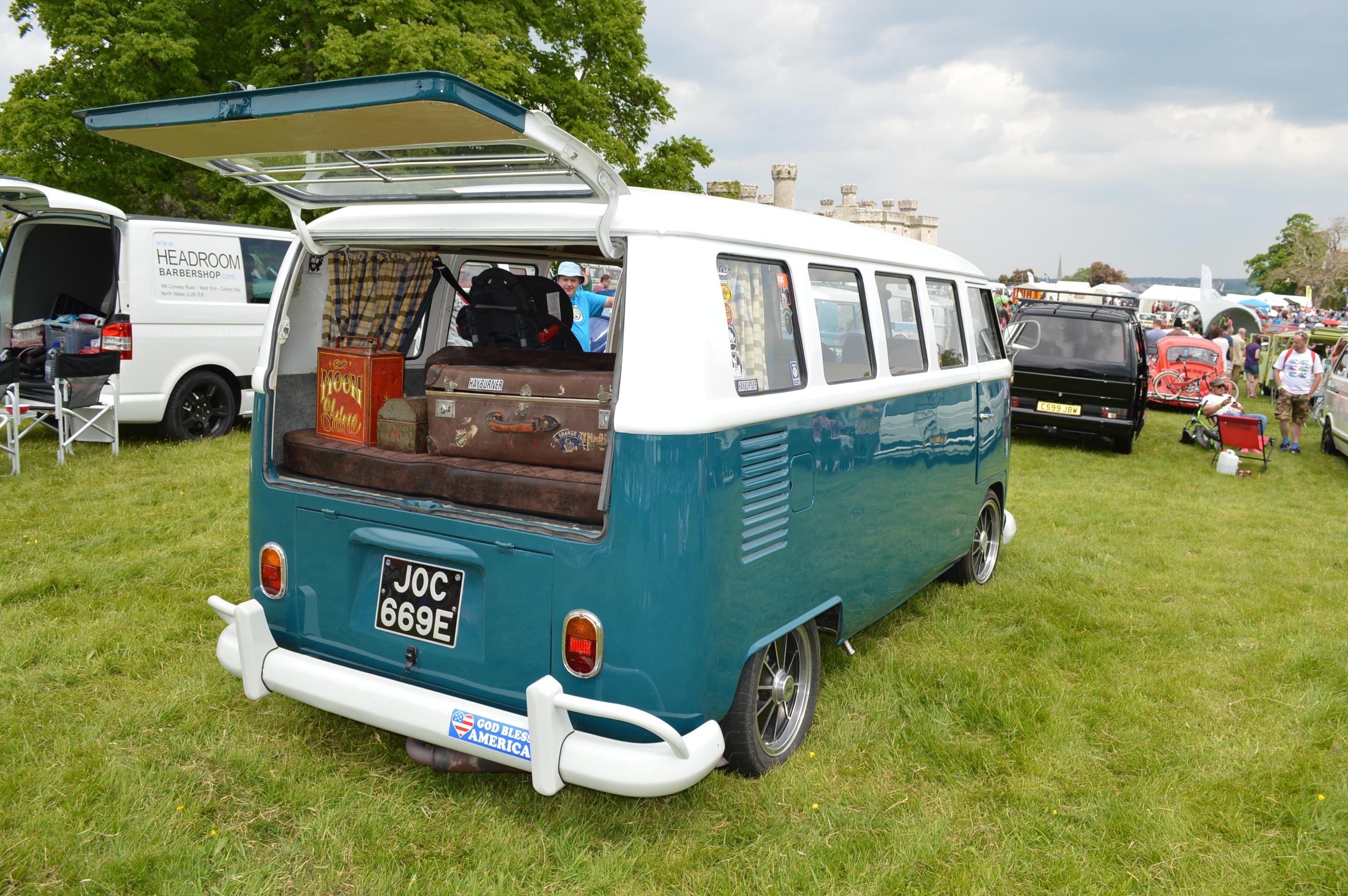 Outdoor Car Adventure Volkswagen Van Summer Vacation Travel Vehicle Journey Holiday Camping Camper Camp