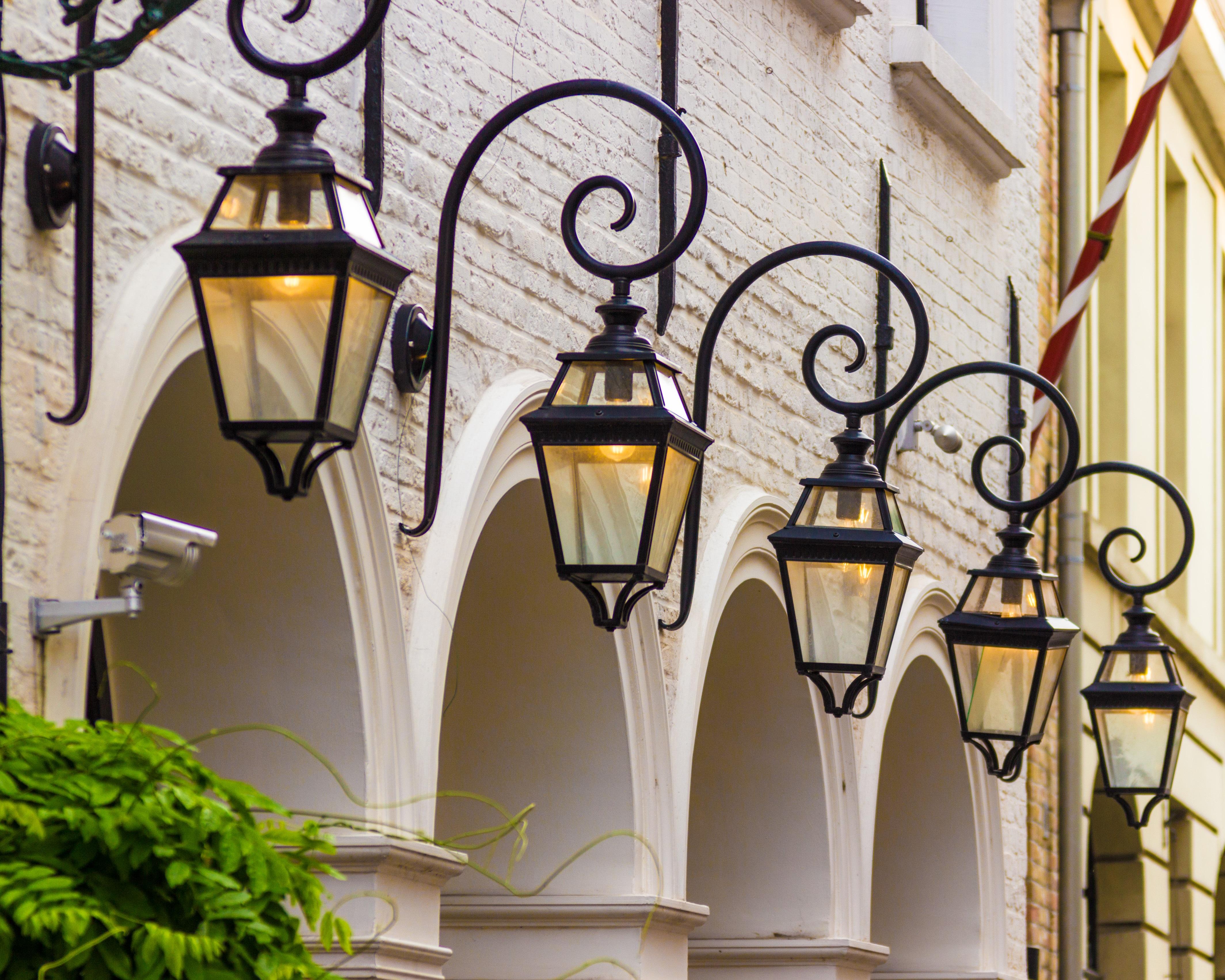 interior lantern lighting. Outdoor Light Window Glass Lantern Romantic Nostalgia Lighting Street Lamp Interior Design Lamps Fixture Iron
