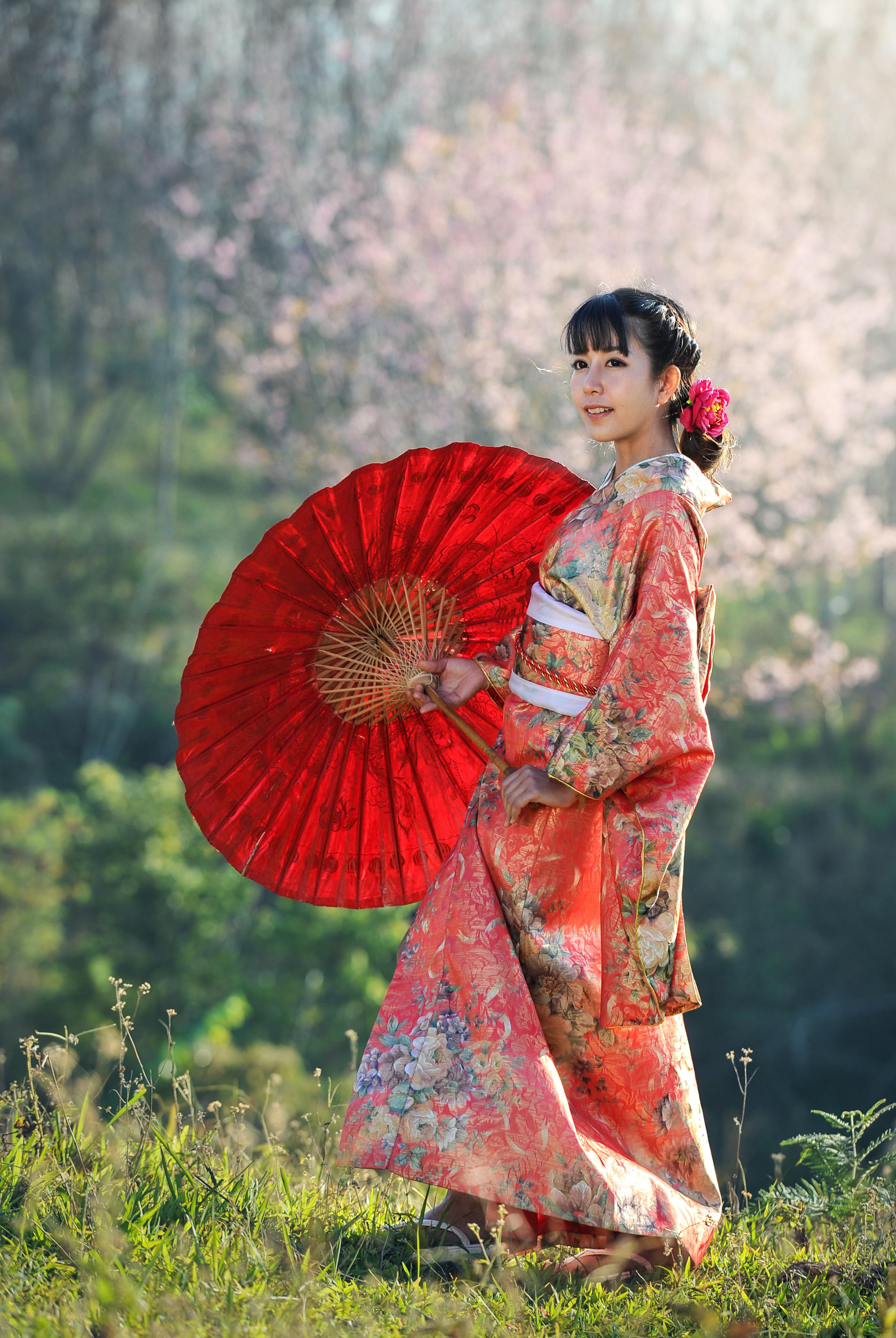 Robe de ceremonie japonaise