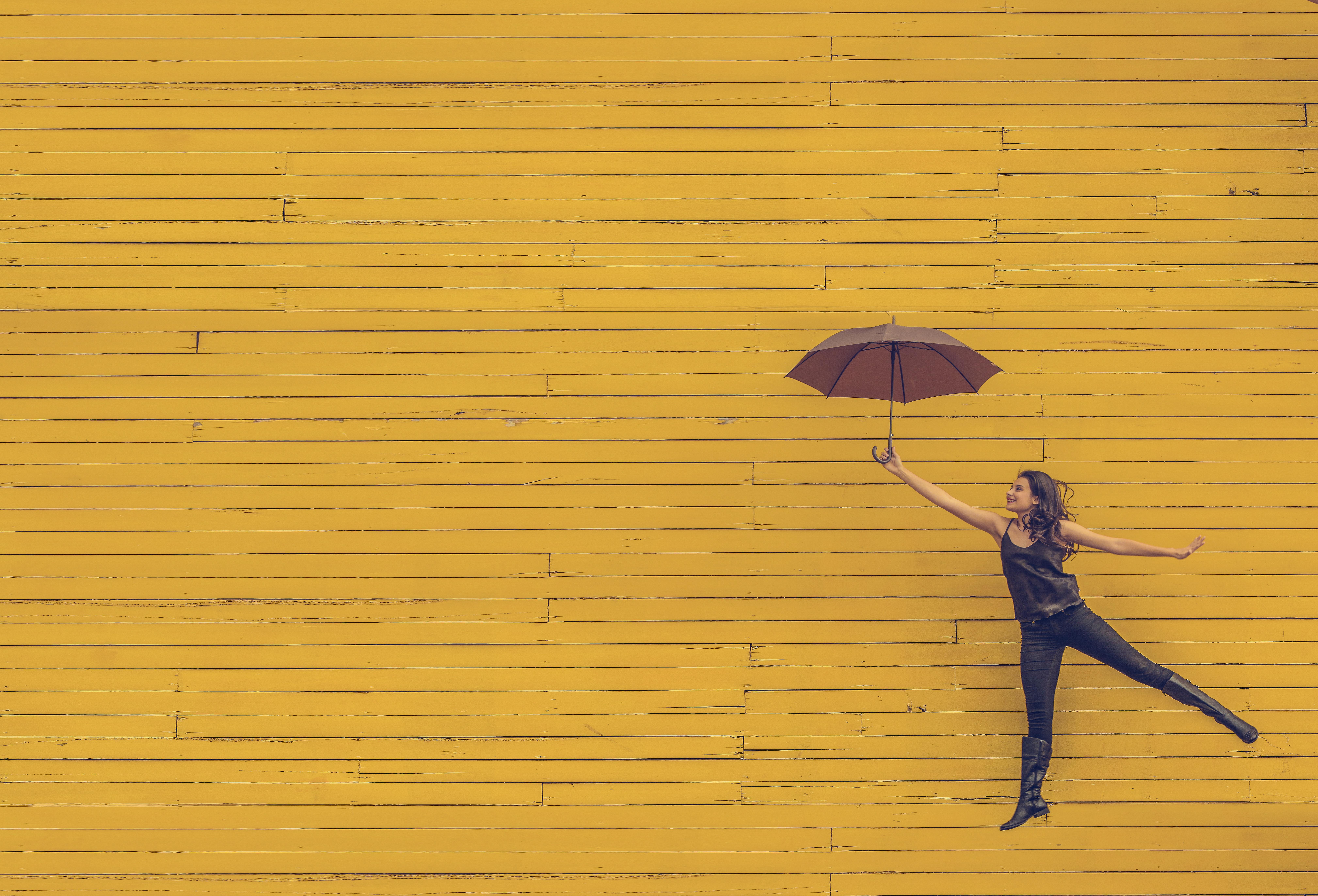 Gambar Outdoor Orang Kayu Gadis Wanita Daun Lantai