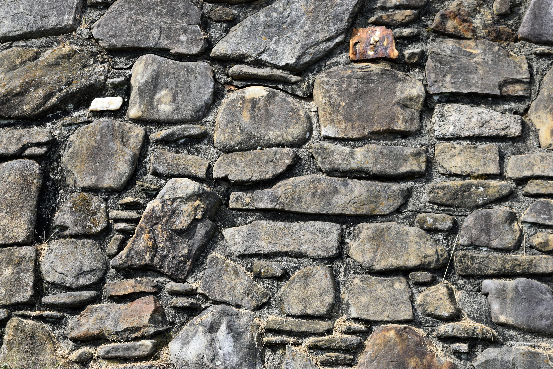 Outdoor Rock Floor Building Old Cobblestone Wall Asphalt Pattern Soil Grunge Rough Exterior Stone Brick