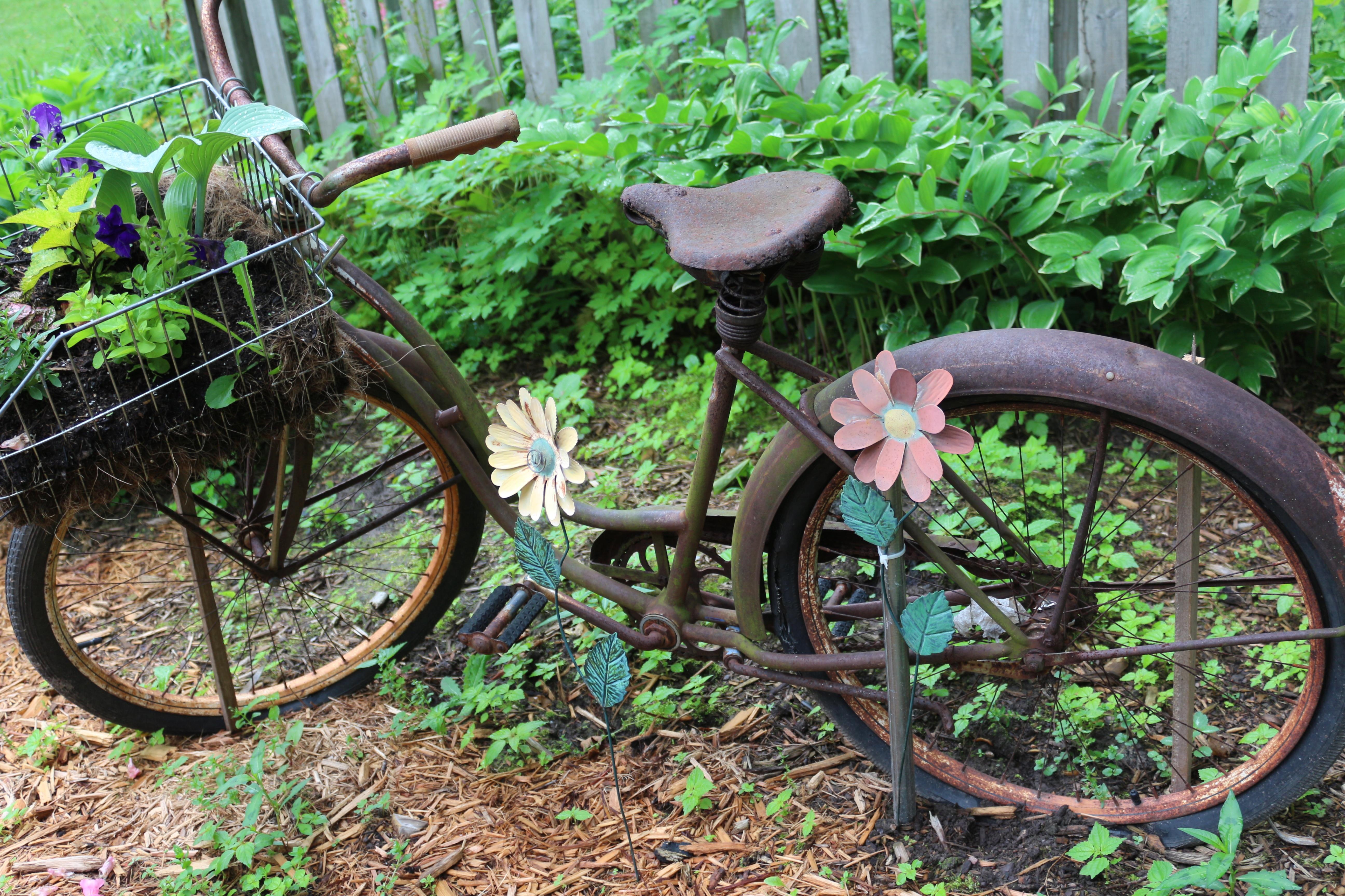 Kostenlose foto  draussen Jahrgang Rad alt Fahrrad Sommer