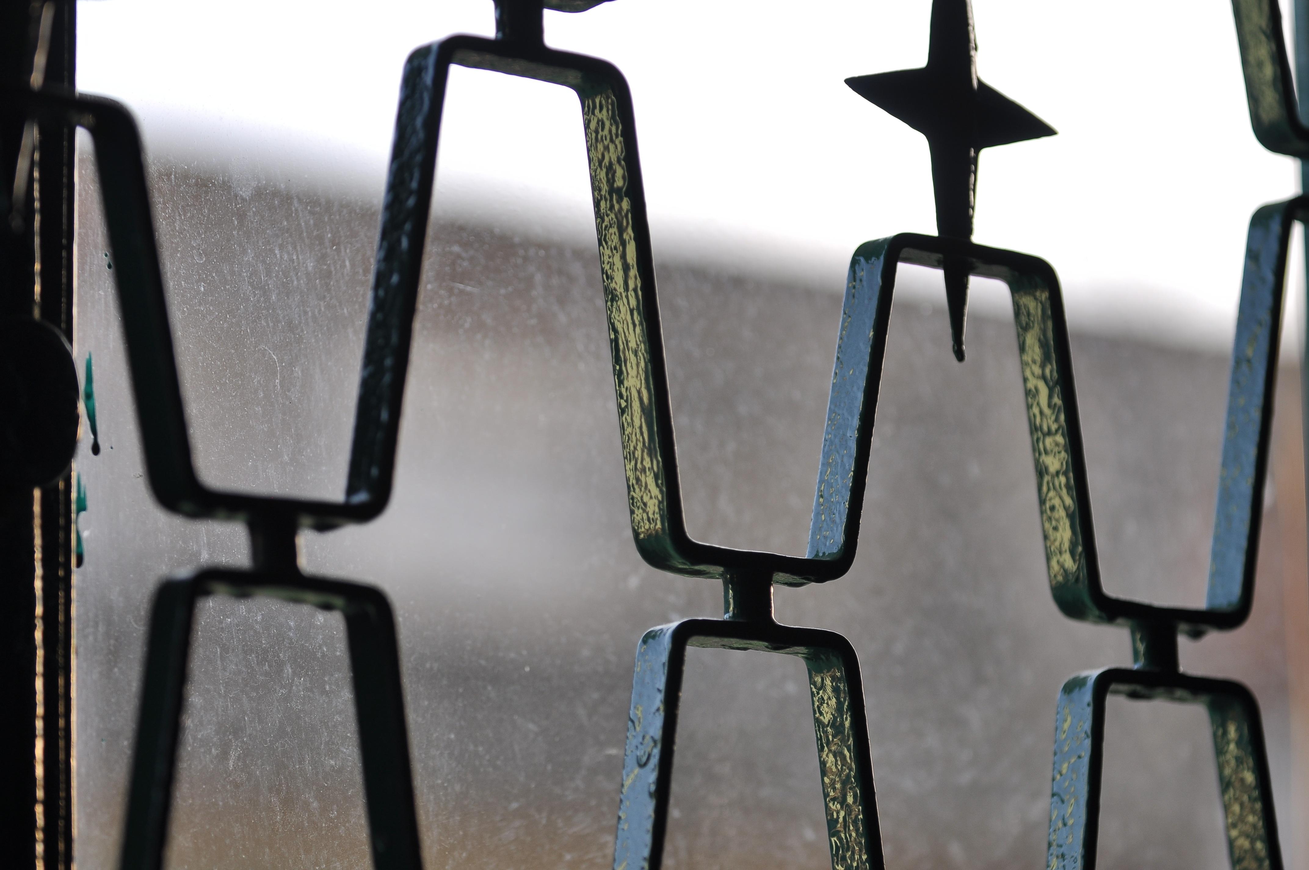 Kostenlose foto : draussen, Winter, Bokeh, Zaun, die Architektur ...