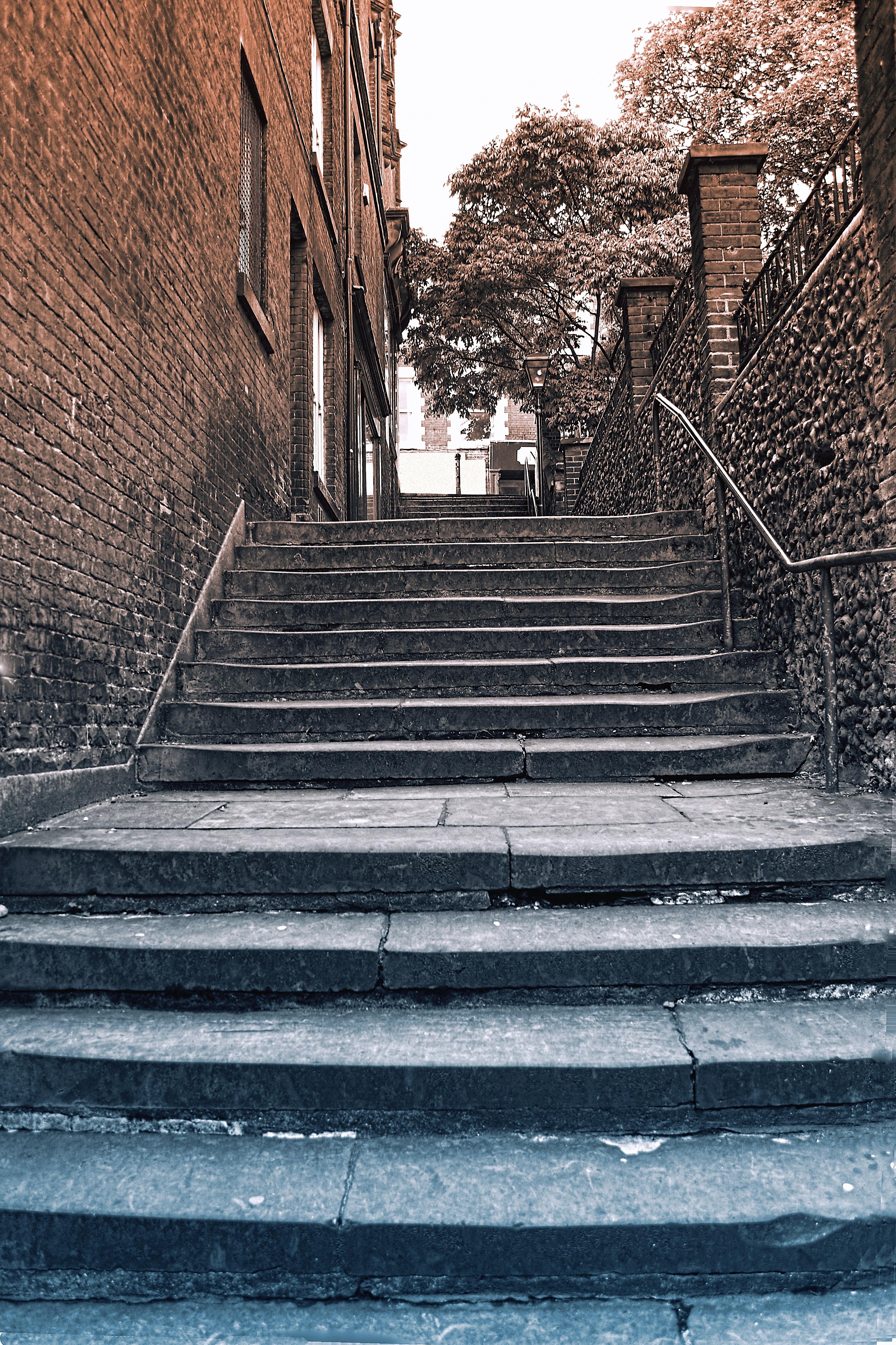 Обои улица, здания, фонари, красота, лестница. Города foto 7