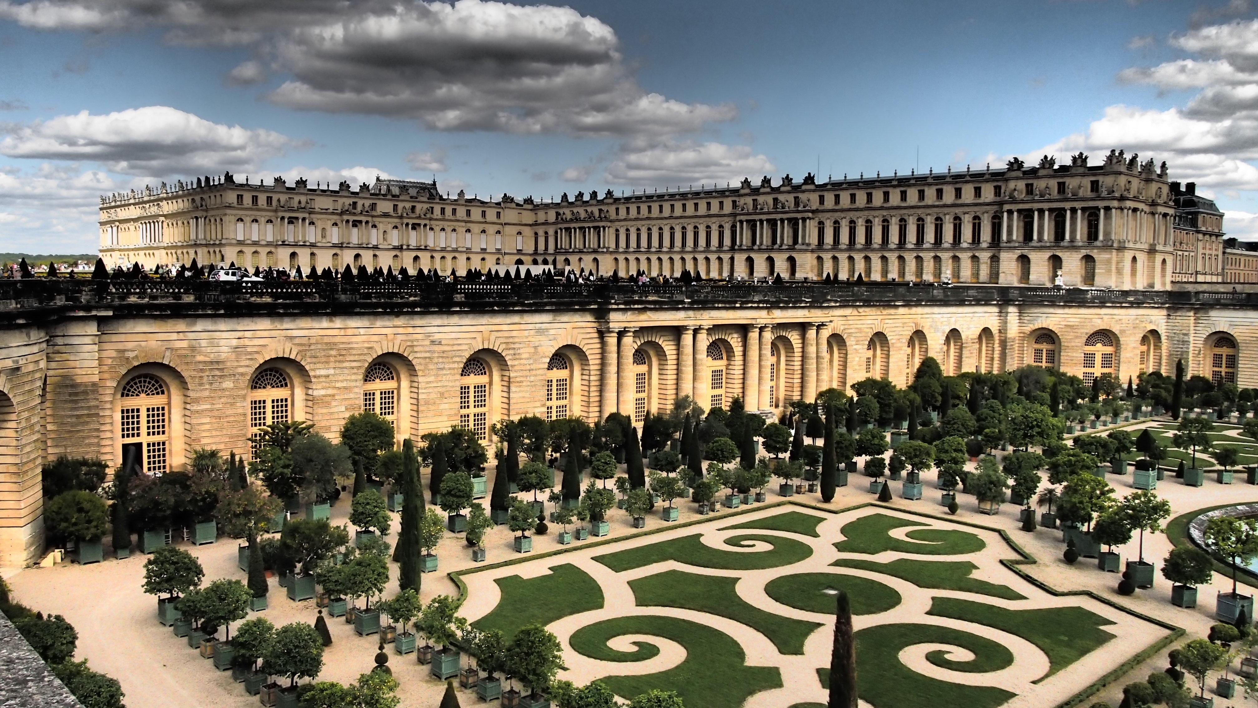 Fotos gratis palacio par s castillo punto de for Piscine de versailles