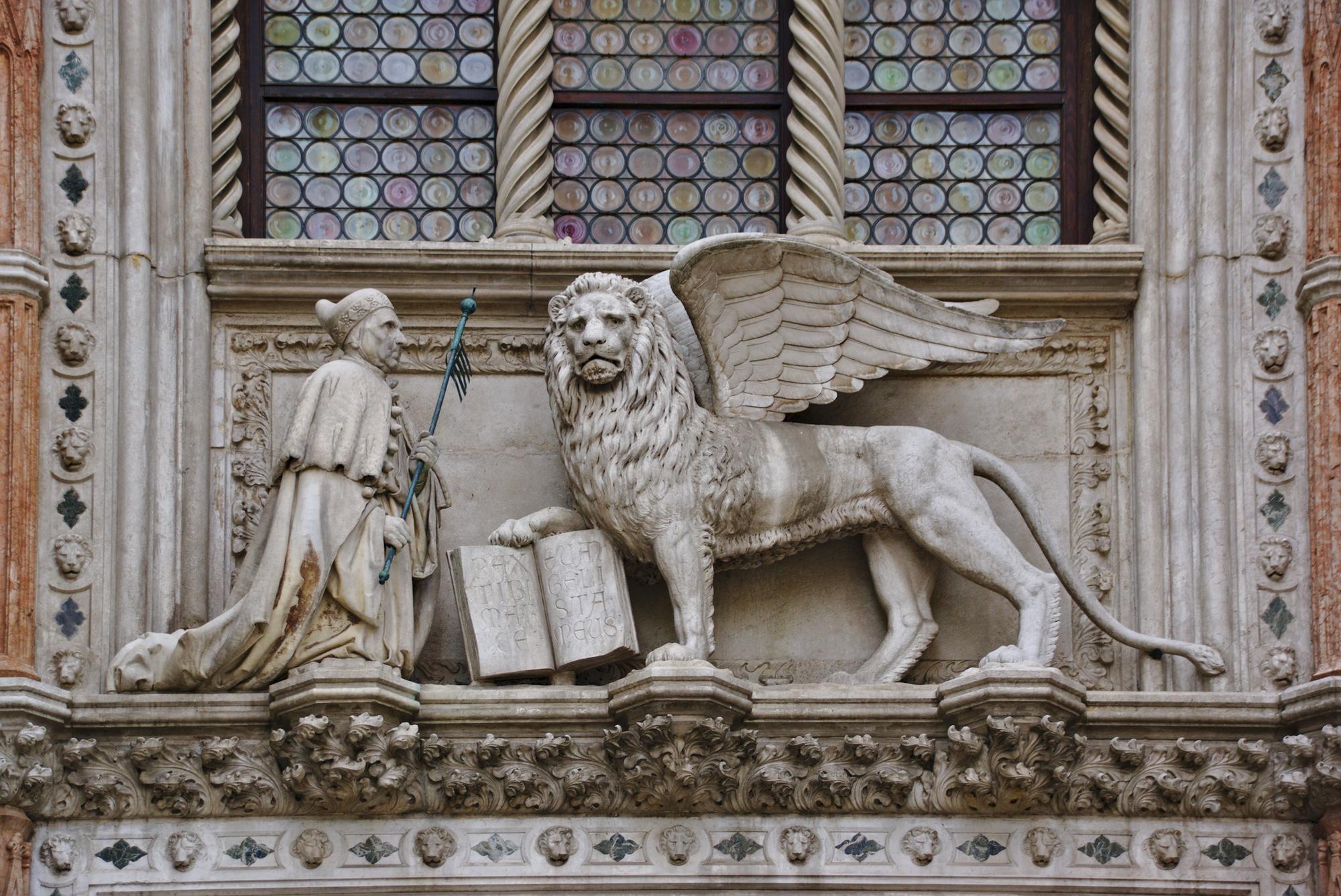 Banco de imagens : Palácio, monumento, estátua, Itália, Veneza, arte ...