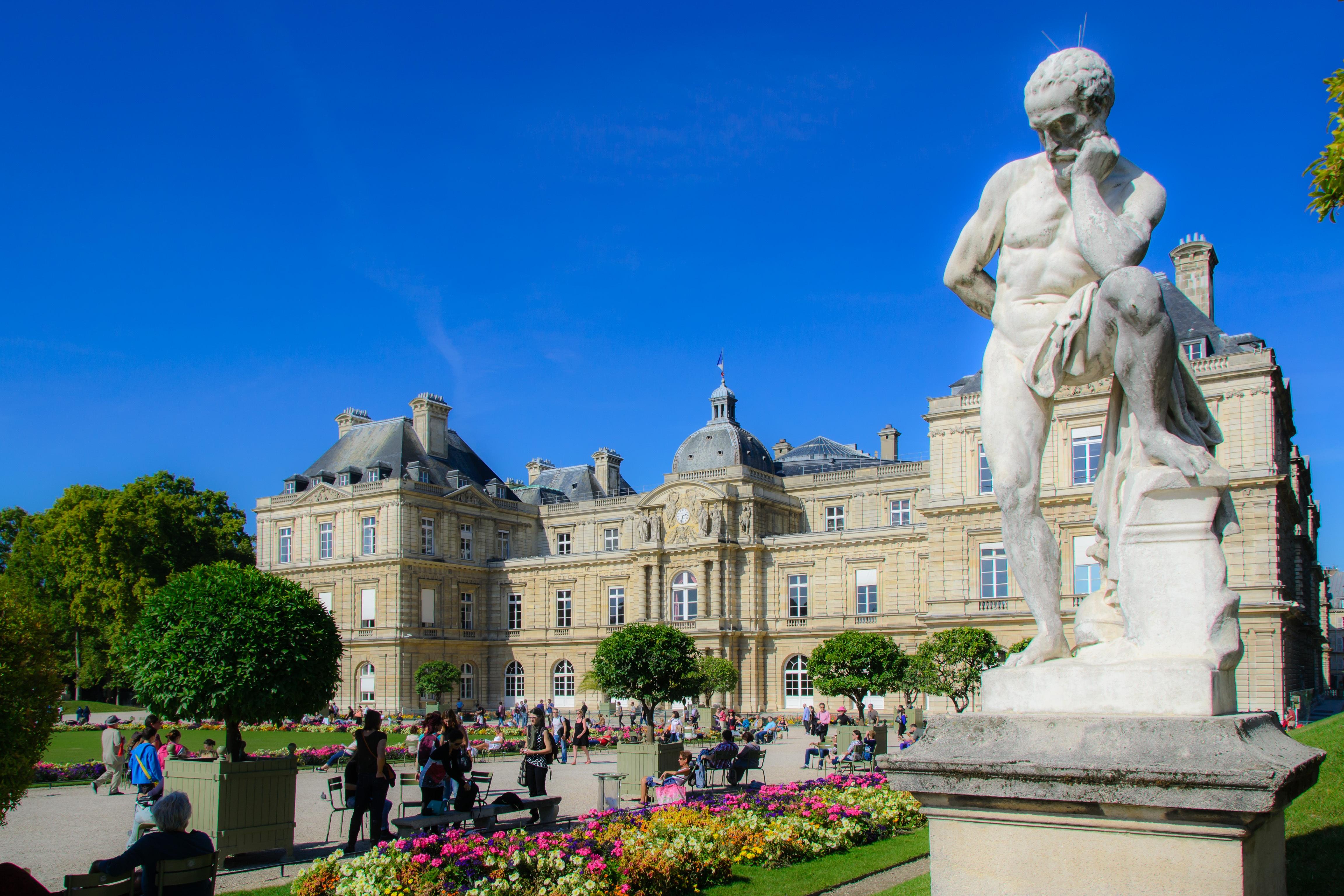Free palace paris monument france statue plaza park