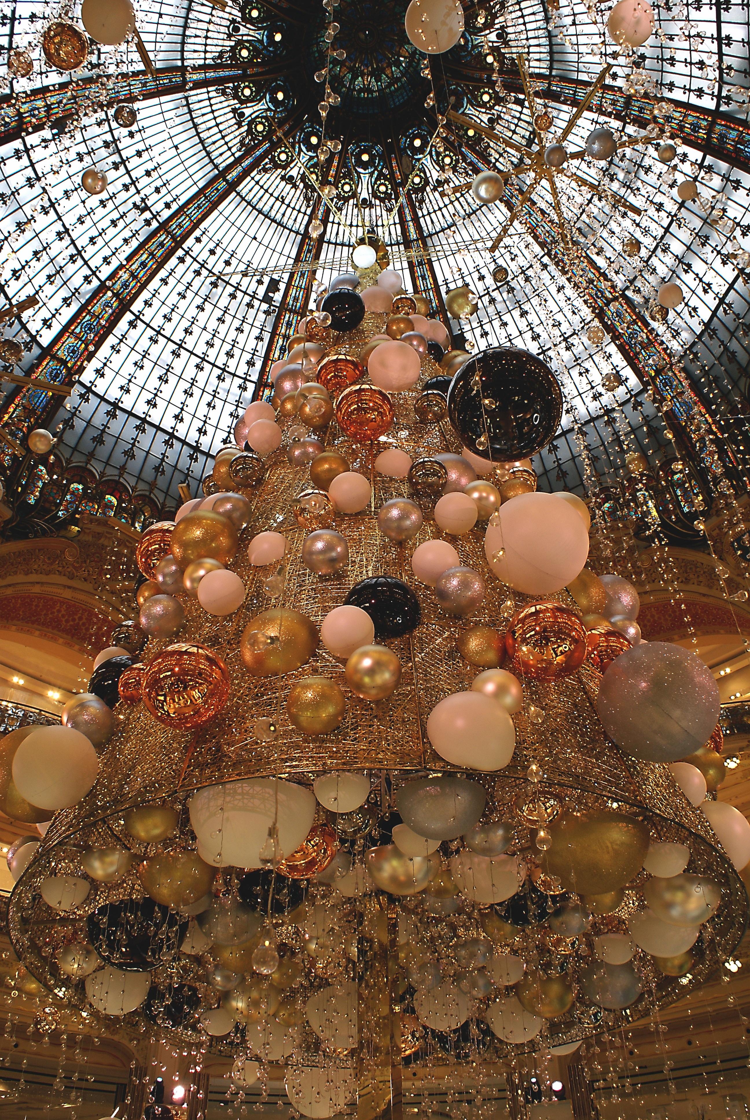 Gratis Afbeeldingen Parijs Frankrijk Verlichting Kerstboom