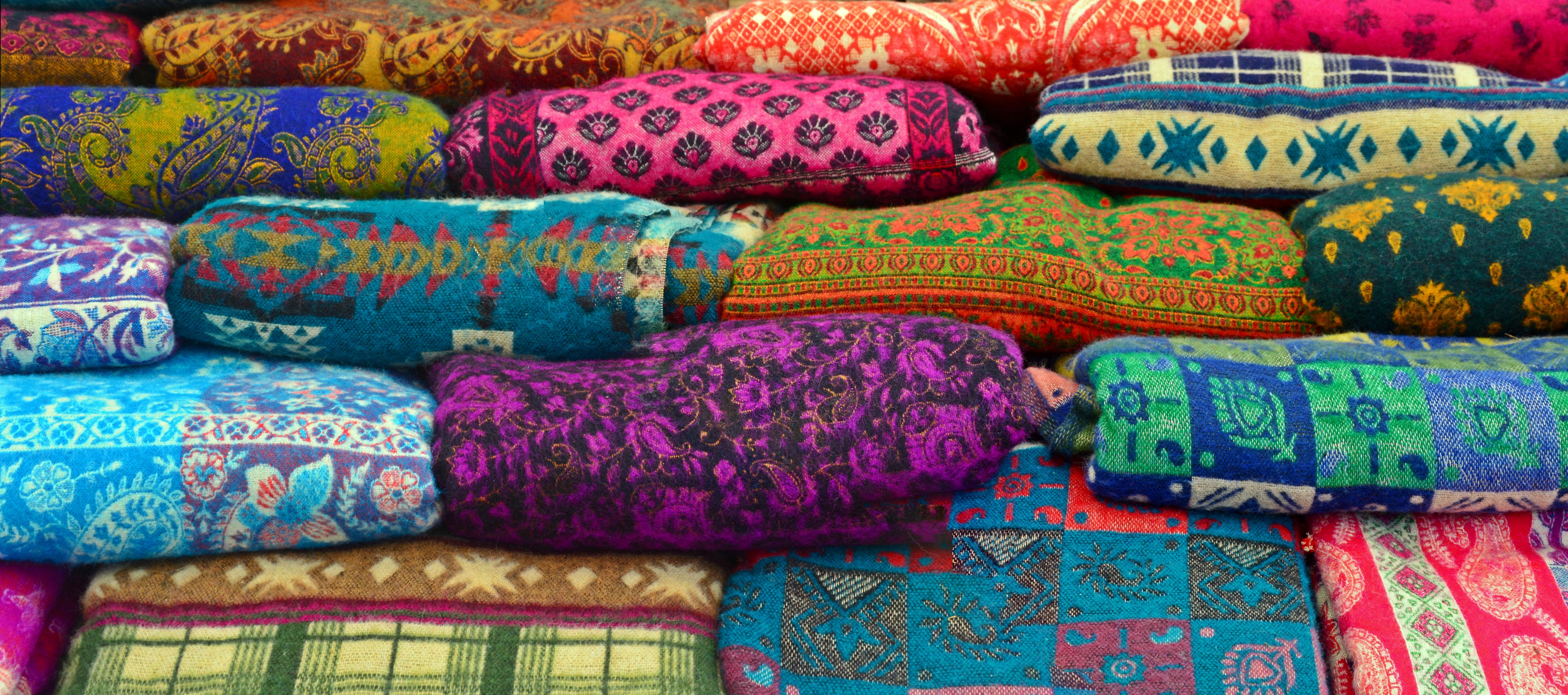Fotos gratis : patrón, color, vistoso, paño, lana, material, tela ...