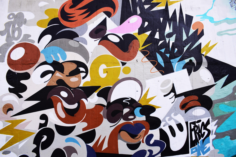 Free Images : pattern, color, paint, graffiti, decor