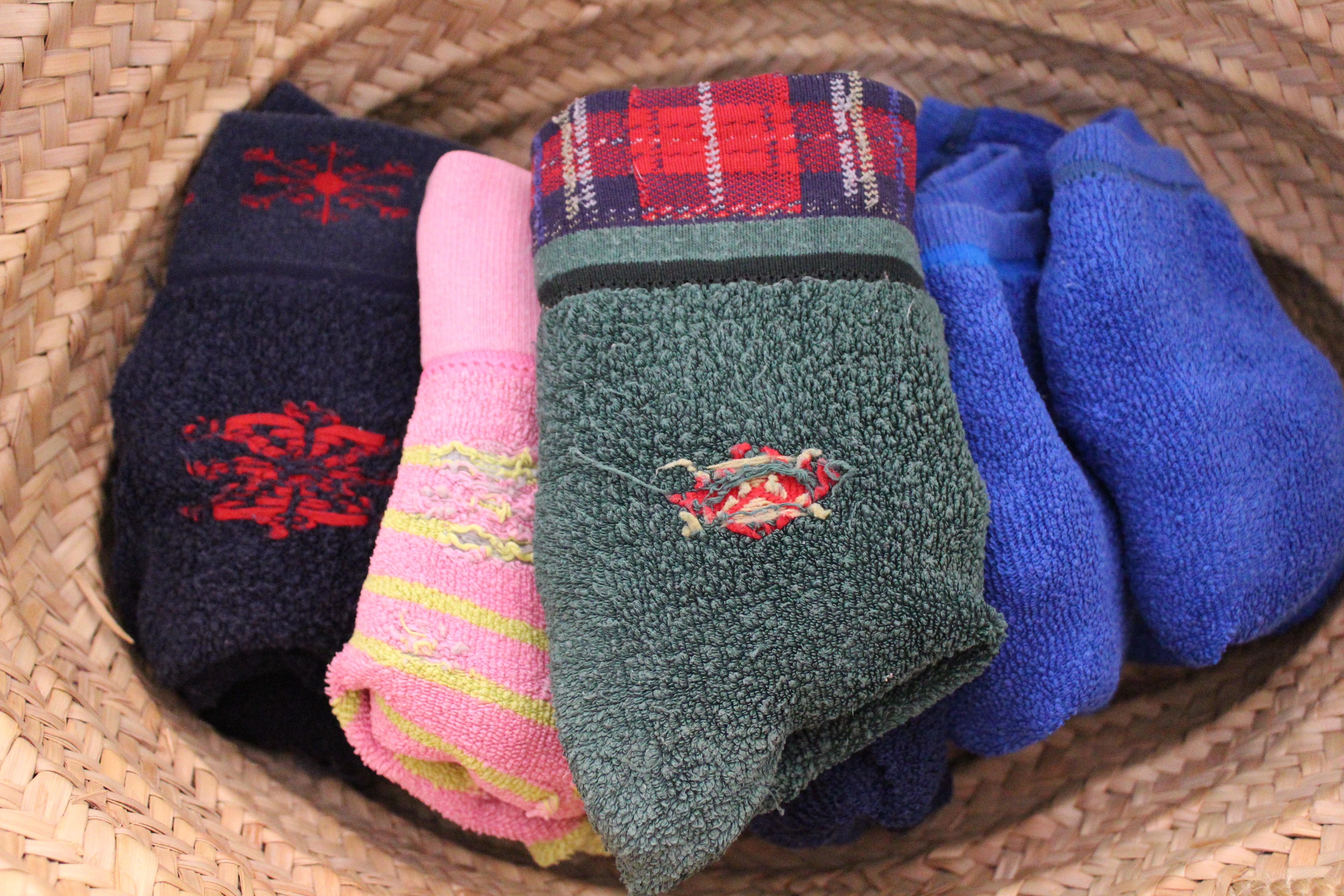 Kostenlose foto : Muster, bunt, Korb, Wolle, Stricken, Textil ...