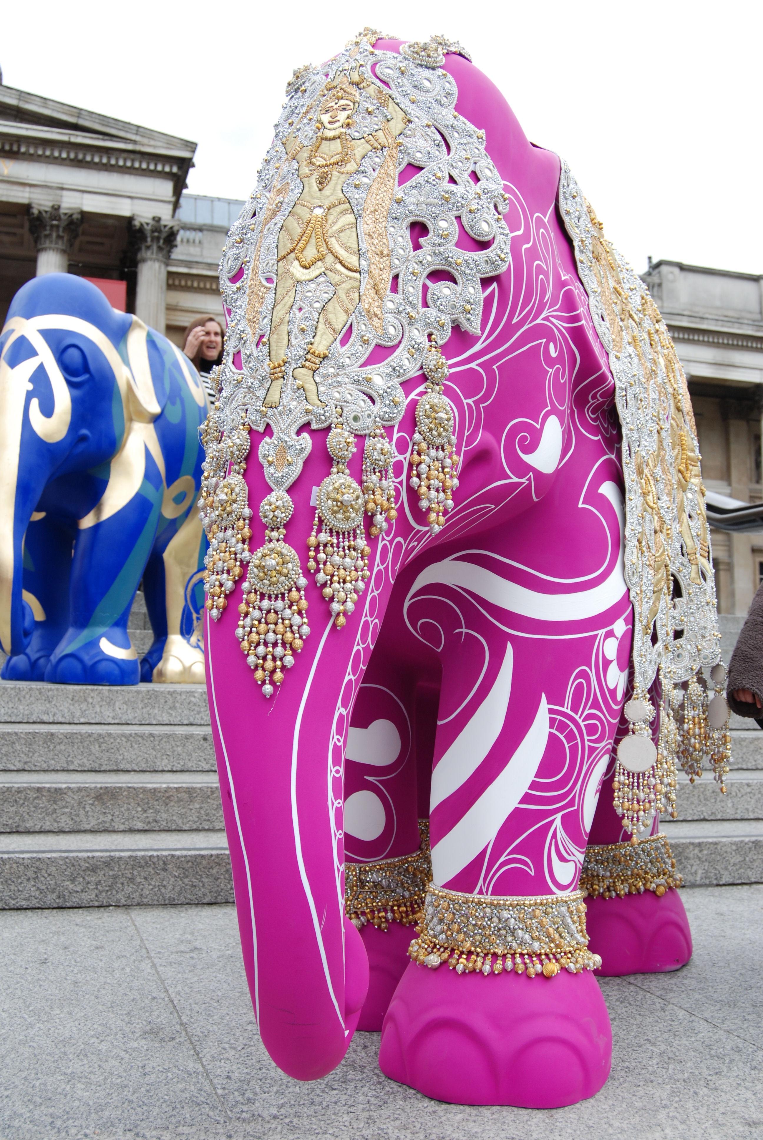 Fotos gratis : patrón, vistoso, ropa, rosado, elefante, Obra de arte ...