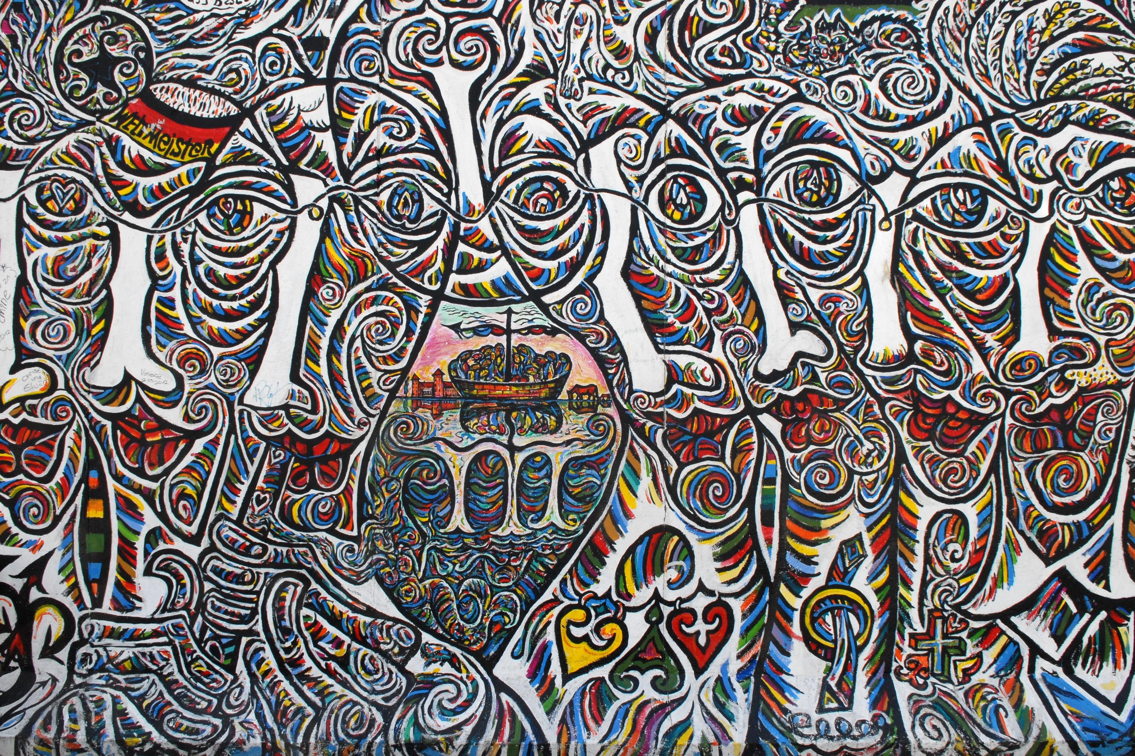 Fotoğraf Desen Duvar Yazısı Boyama çizim Illüstrasyon Tasarım