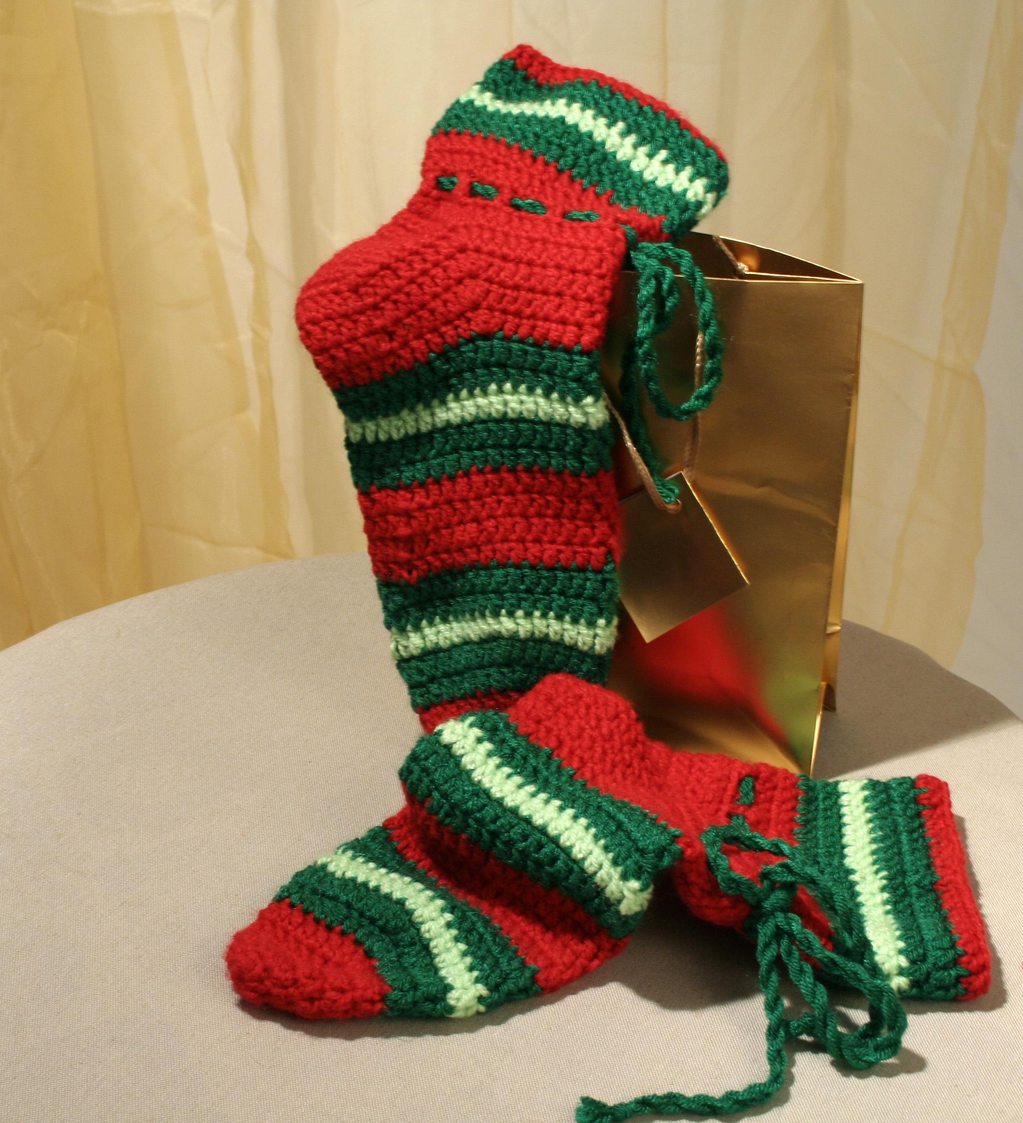 Kostenlose foto : Muster, Grün, rot, Weihnachten, Wolle, häkeln ...