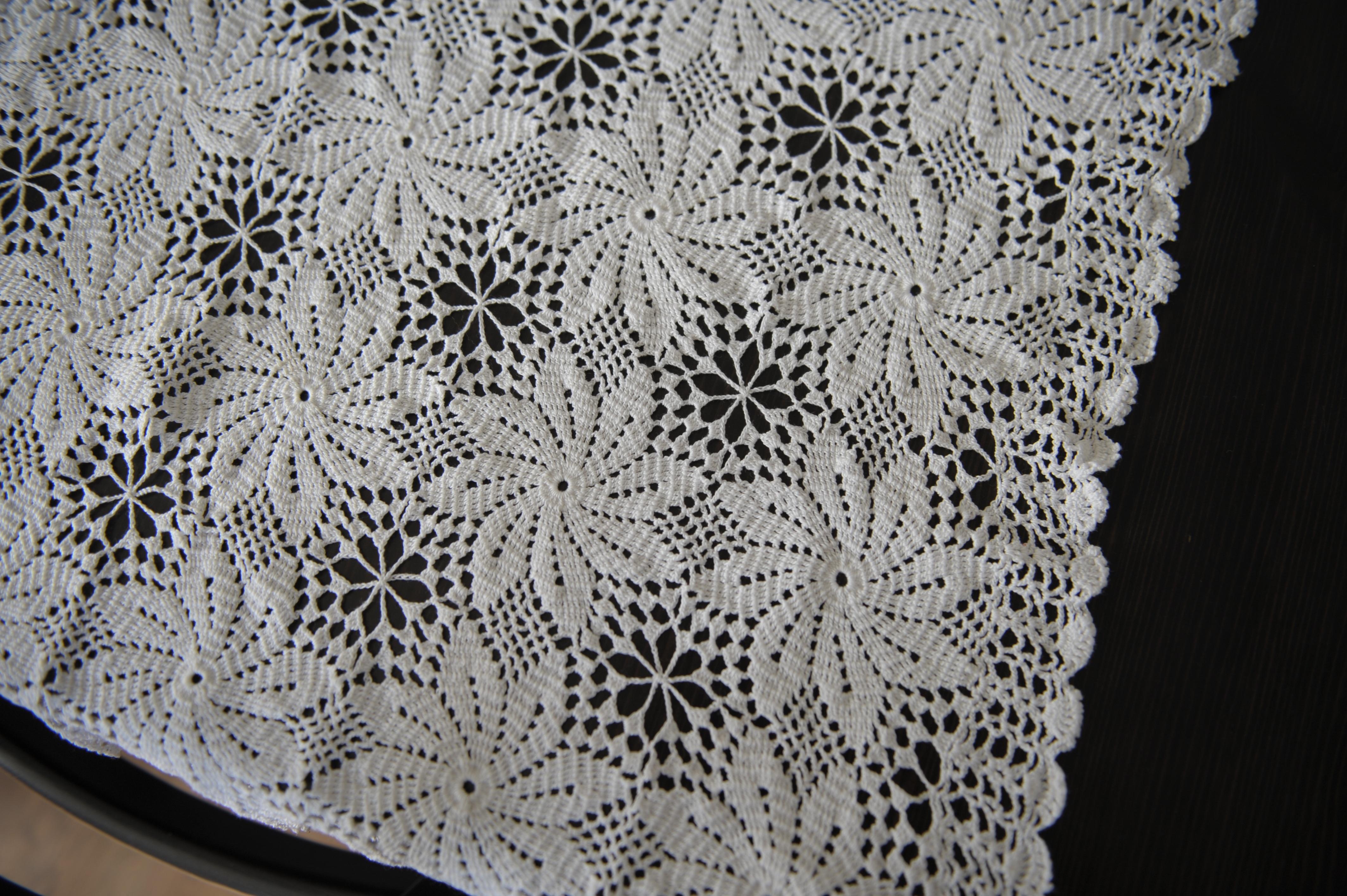Kostenlose Foto Muster Spitze Material Tischdecke Häkeln