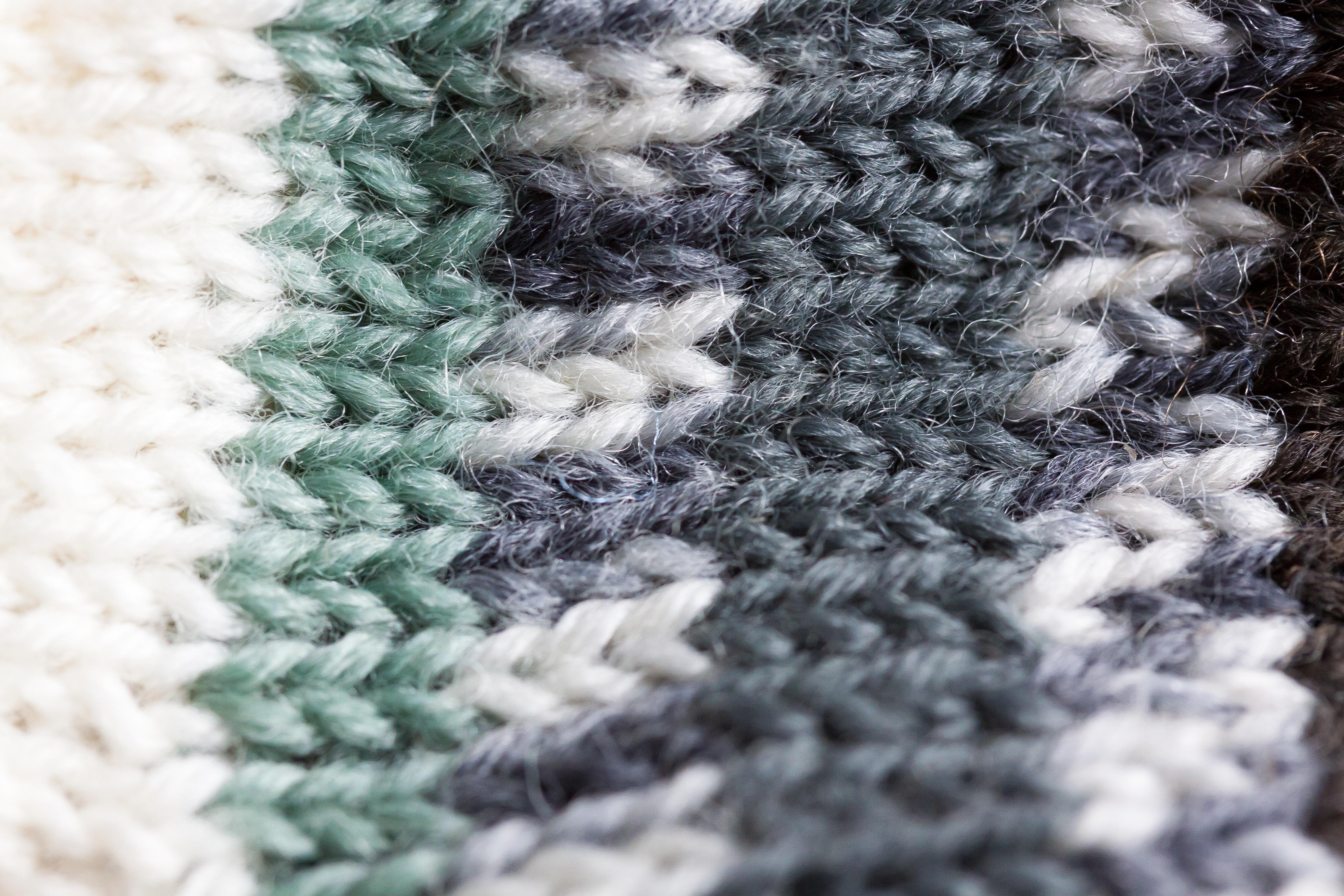 Fotos gratis : patrón, macro, ropa, hilo, de lana, tejer, tejido de ...