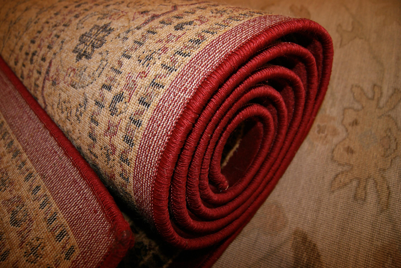 Fotos gratis : patrón, rojo, alfombra, lana, material, circulo ...