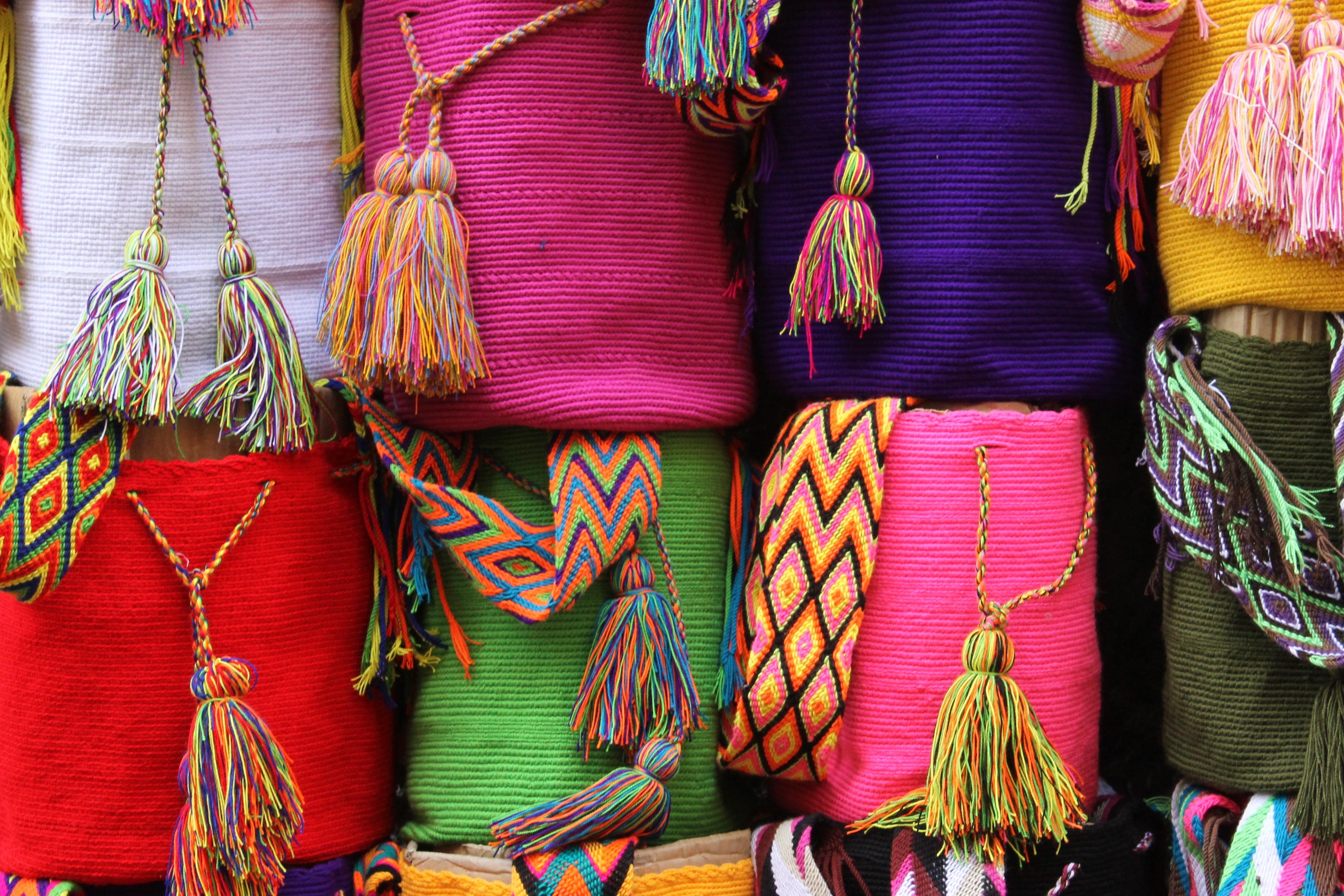 Free Images : pattern, shop, color, bag, colorful, textile