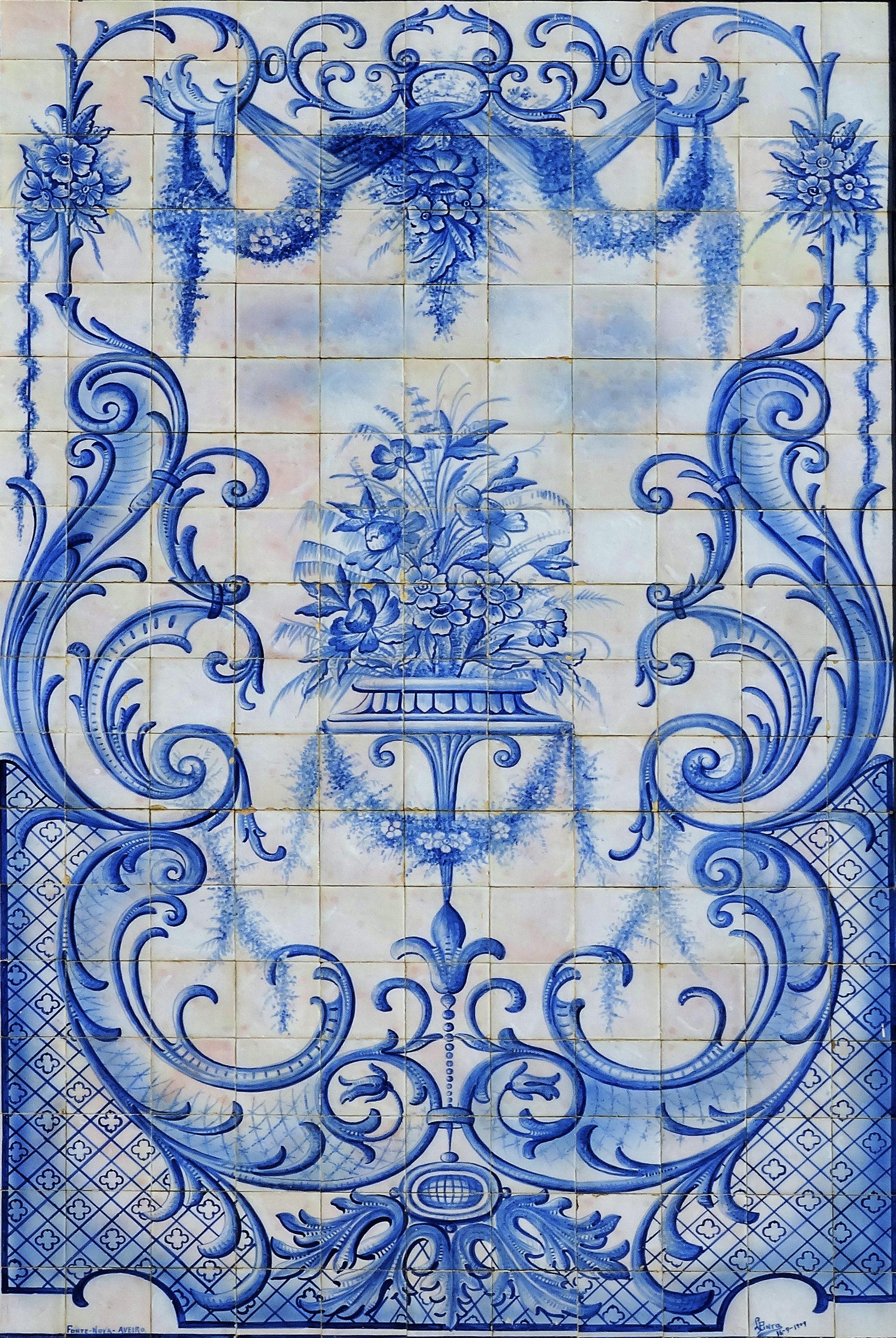Fotos Gratis Patron Azulejo Azul Material Textil Art - Azulejos-con-dibujos