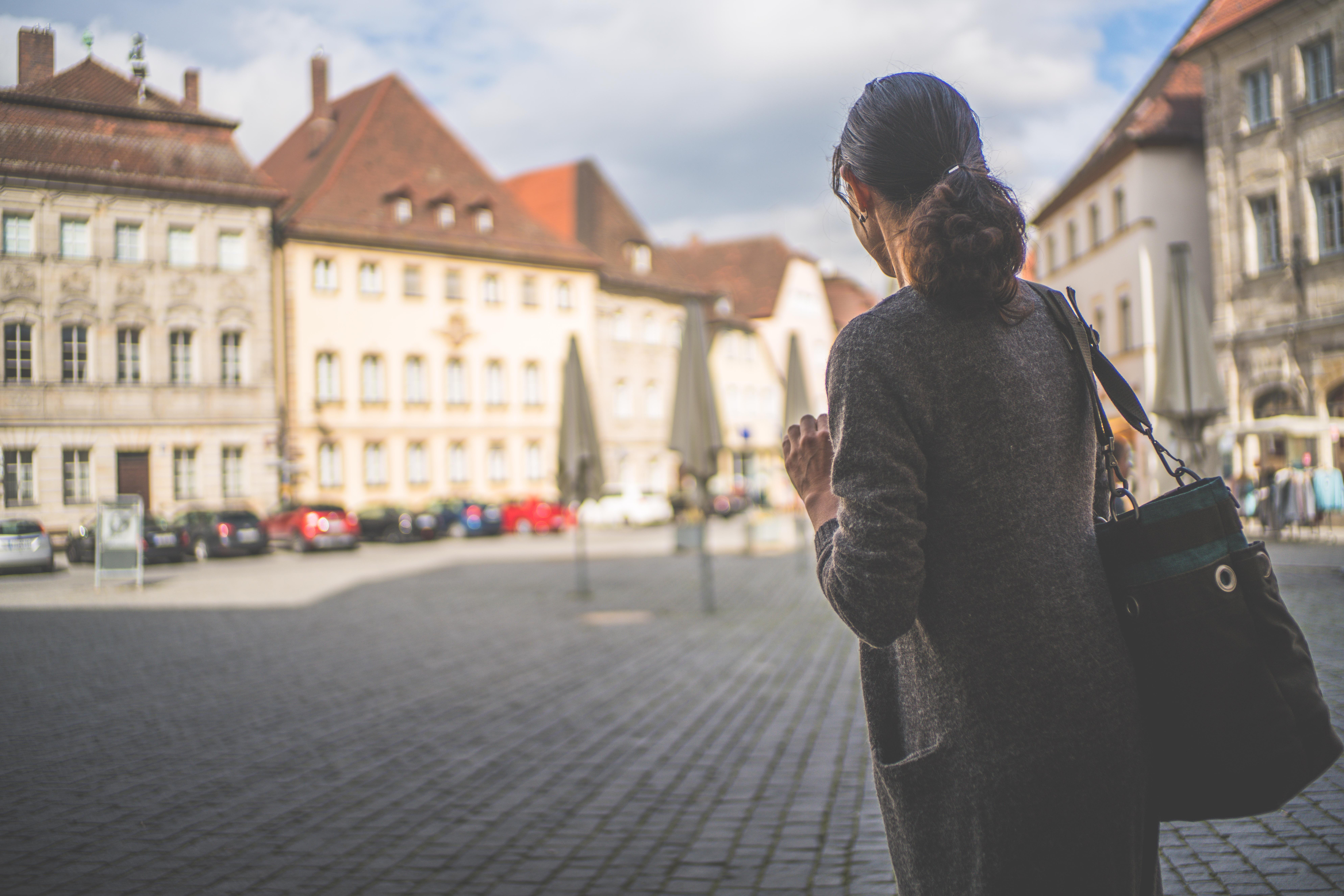 Free Images : pedestrian, girl, road, street, city, urban, travel ...