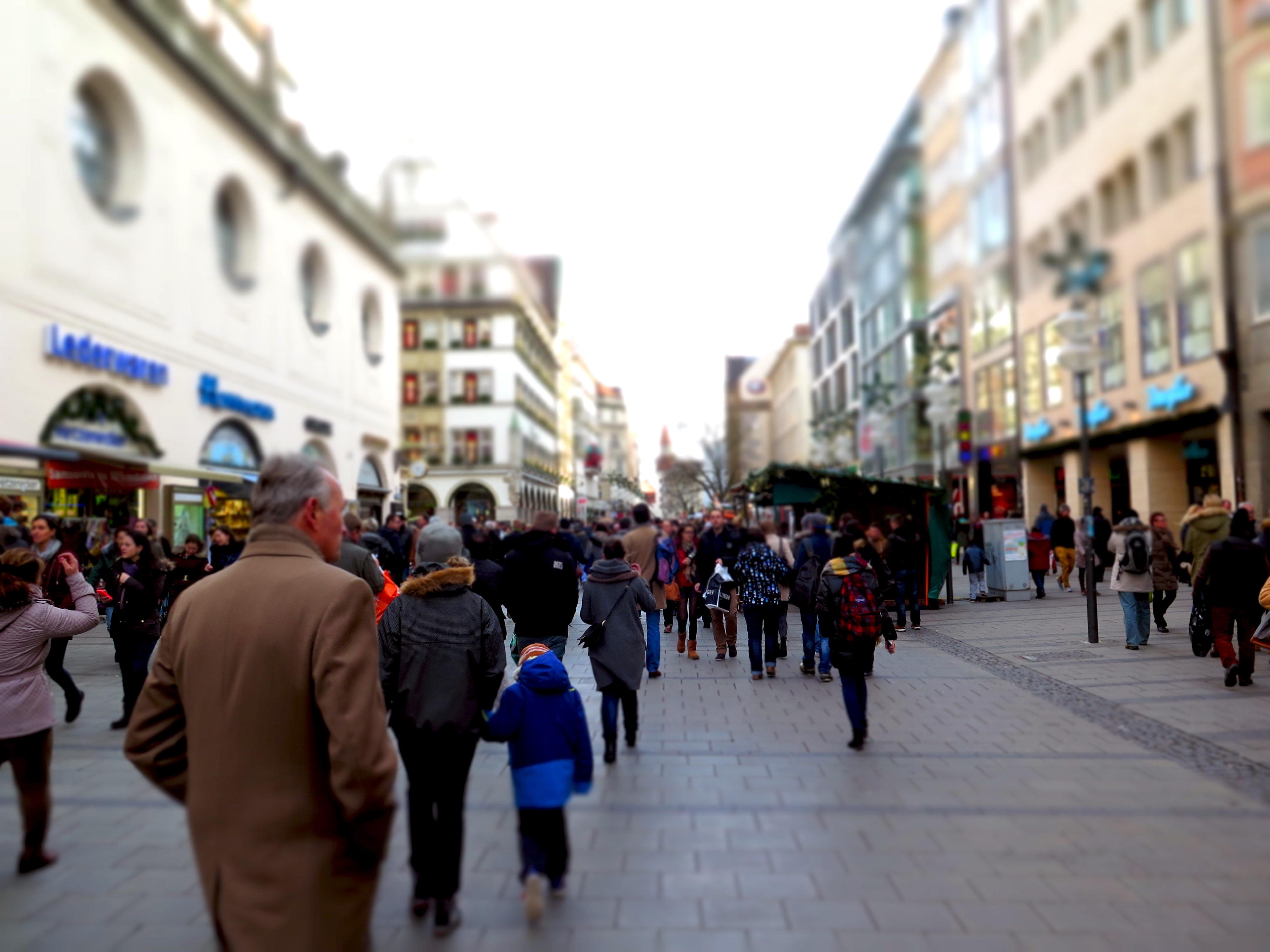 многолюдные улицы картинки настанет голод