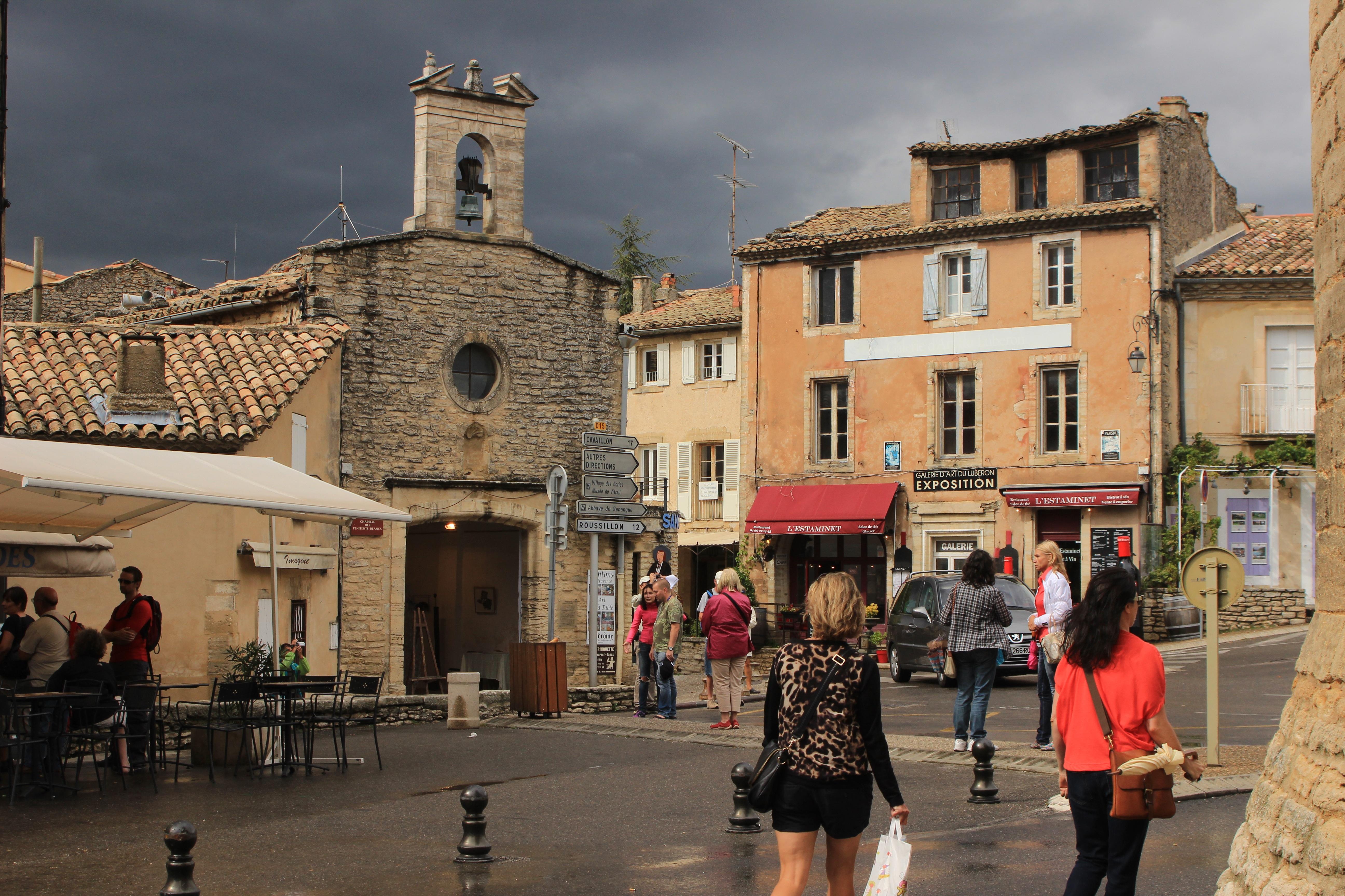 Images gratuites pi ton route rue paysage urbain centre ville voyage france tourisme - Office du tourisme gordes ...