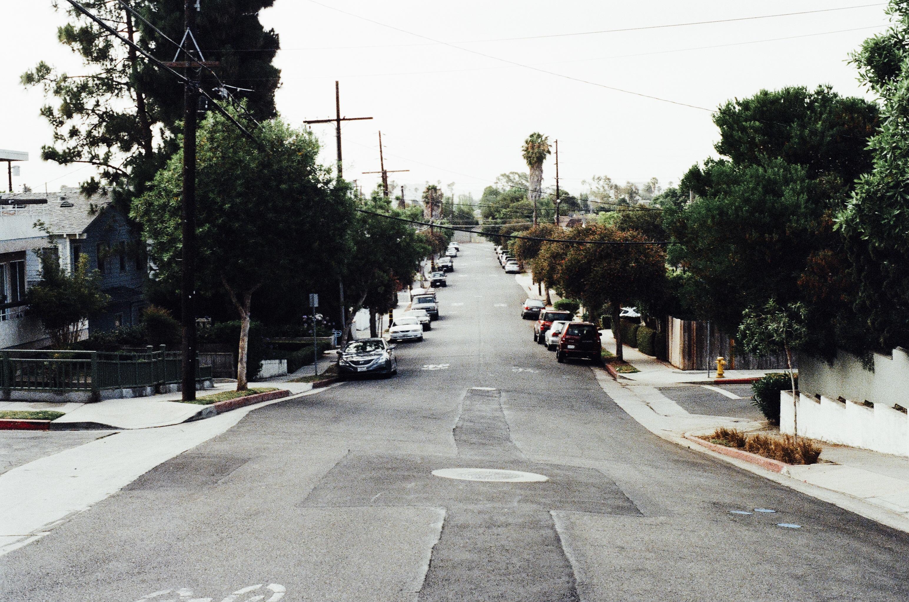 Free Images : street, vintage, sidewalk, old, parking ...