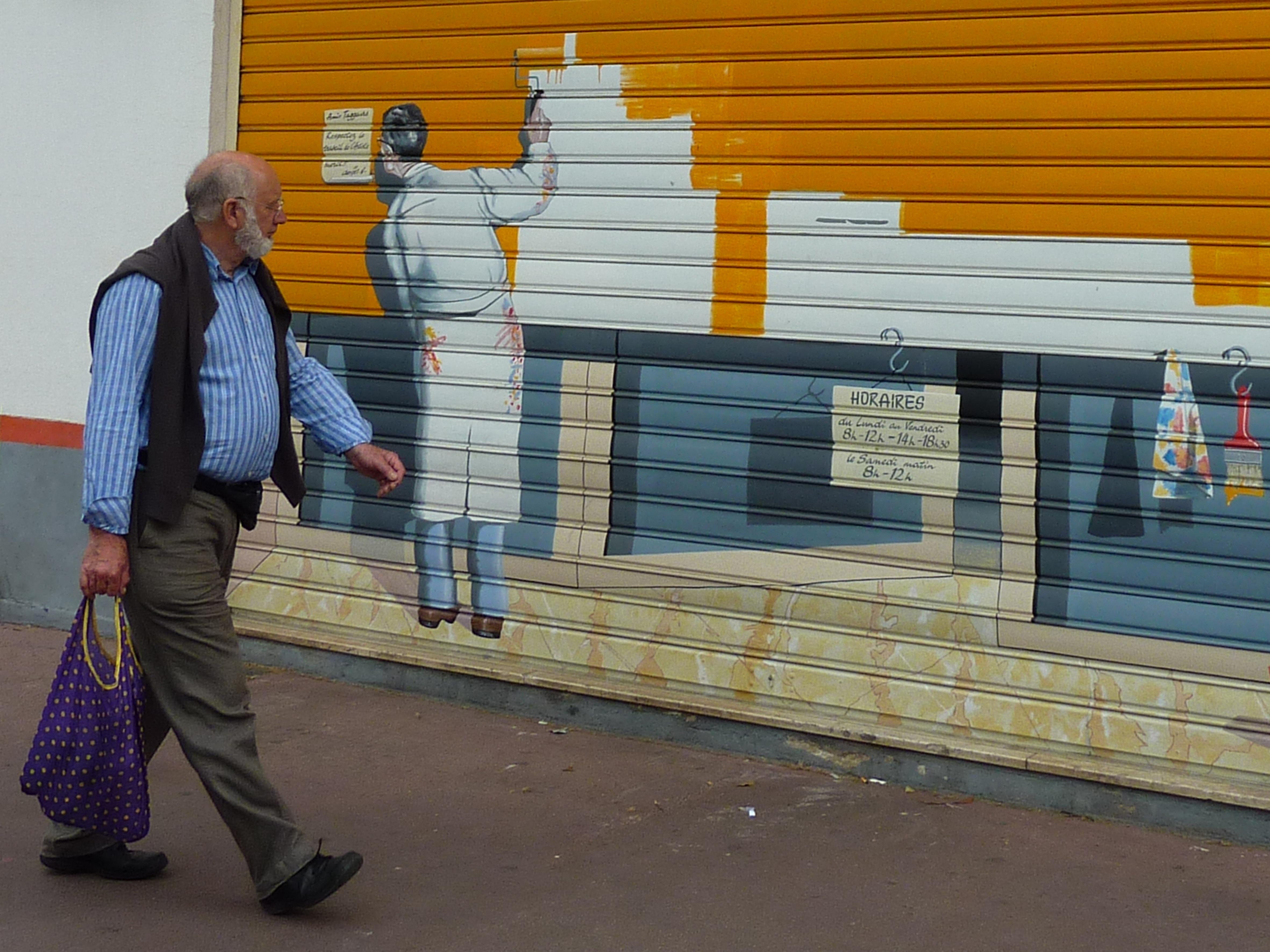 Graffiti art on wood - Pedestrian Wood Street Wall Decoration Color Graffiti Artwork Painting Street Art Art Mural Graffity Graffitti Wall