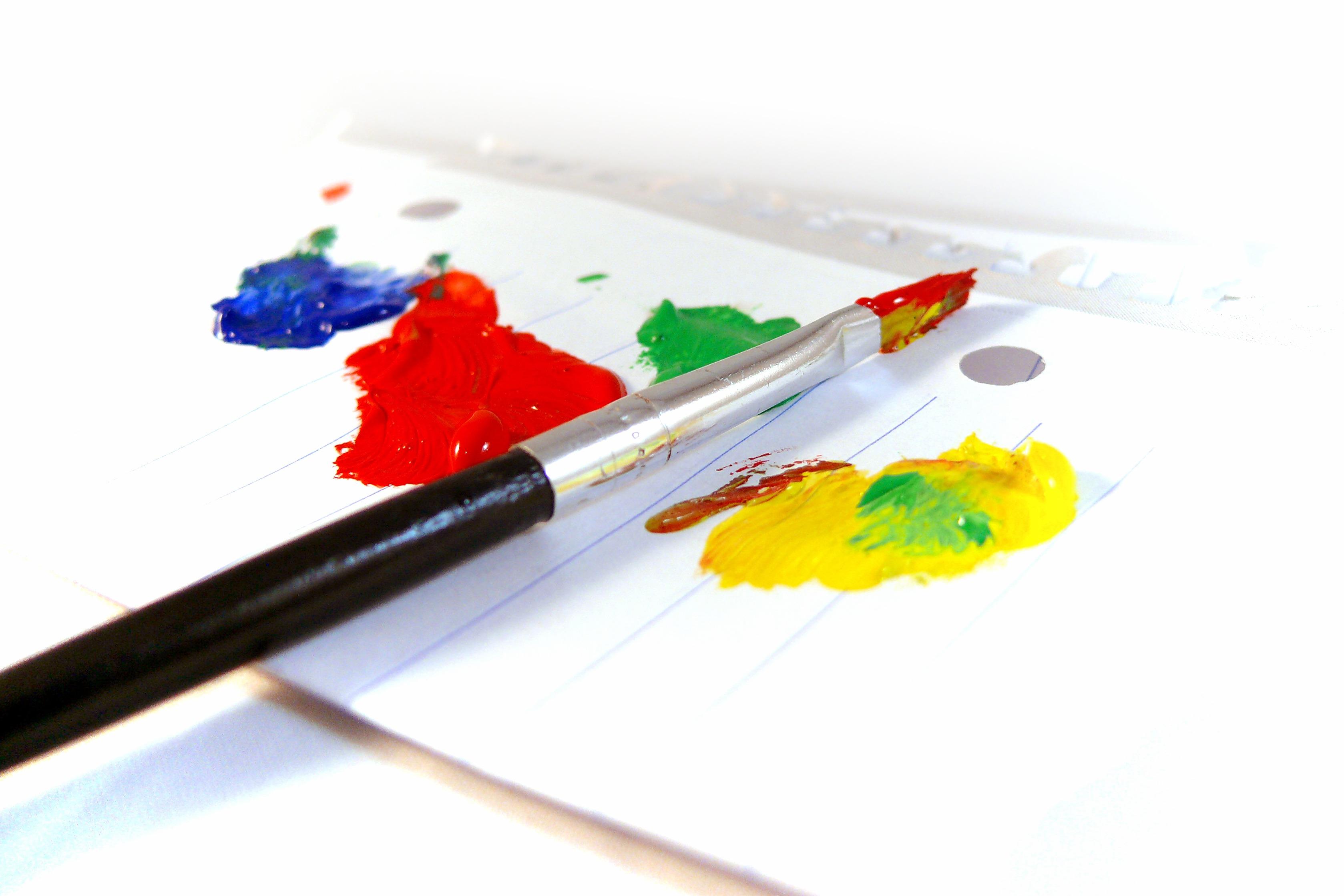 Images gratuites crayon cr atif brosse d coration couleur artistique artiste peindre - Papier renovation a peindre ...