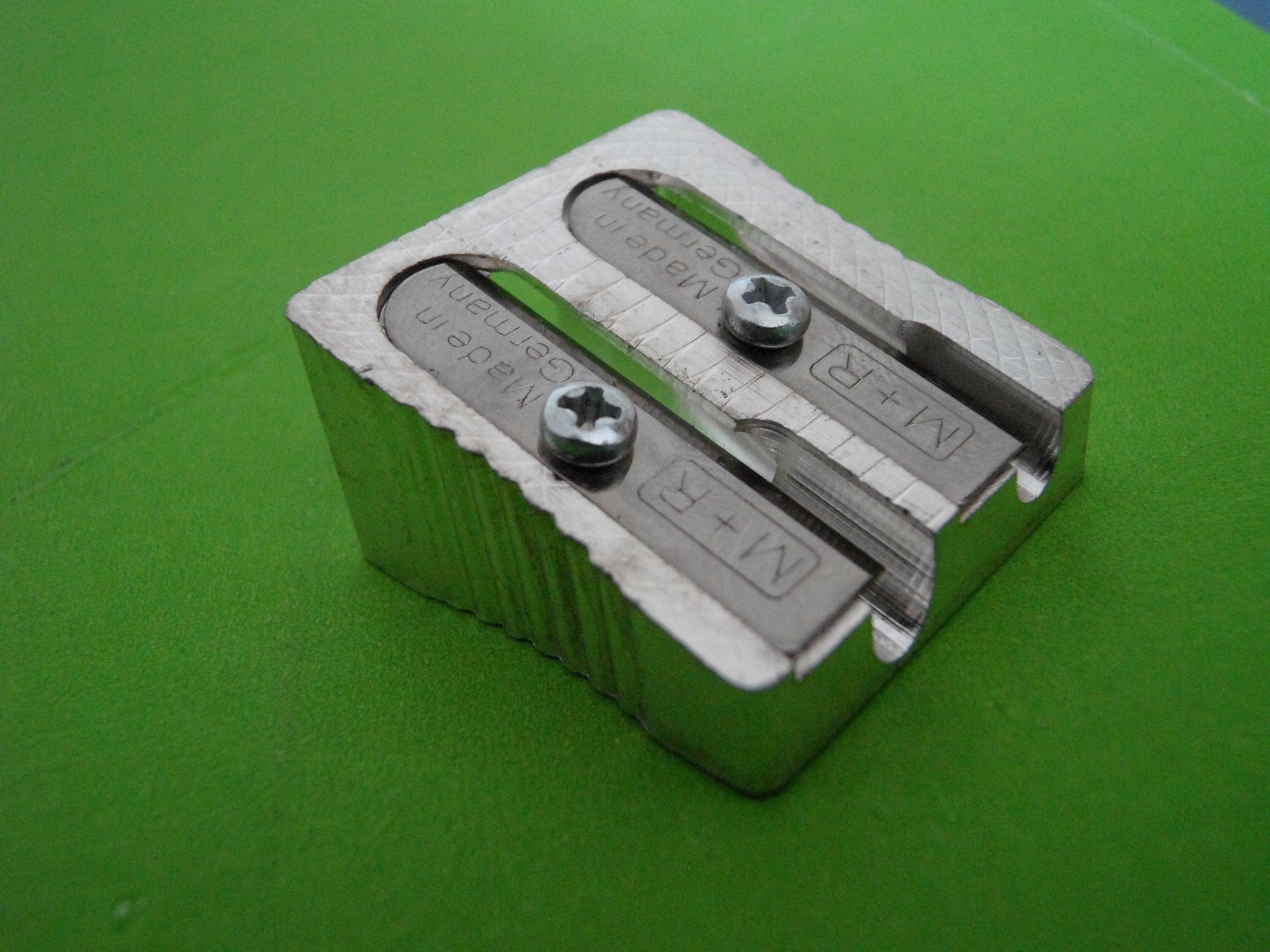 Free Images Green Laser Pencil Sharpener Spitzer