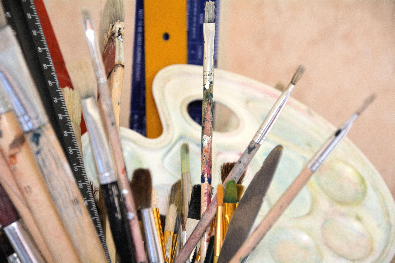 Bút Chì Vật Chất Sản Phẩm Bảng Màu Sáng Tạo Đũa Những Cây Chổi Sơn