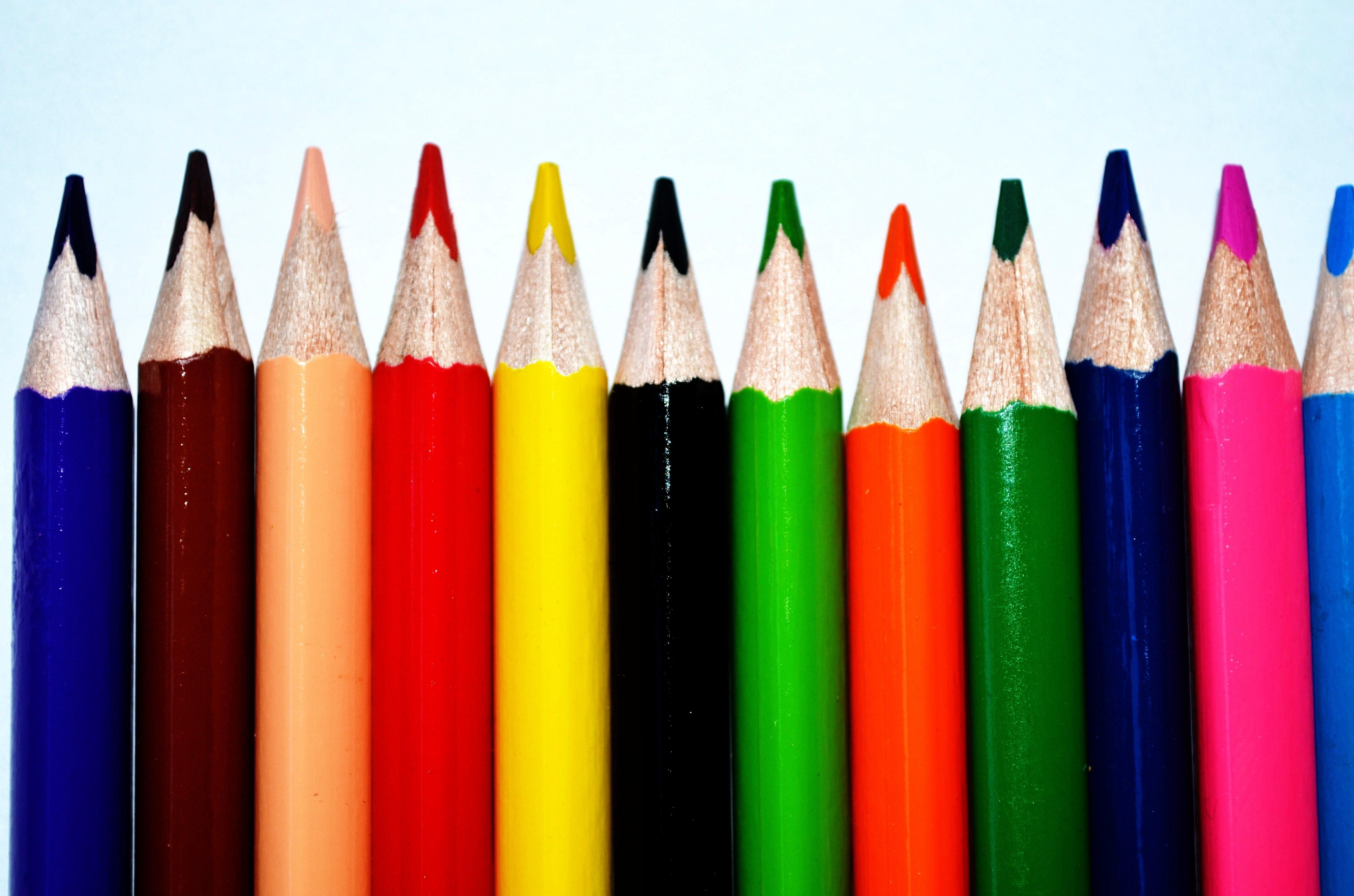 images gratuites crayon violet orange vert rouge couleur marron bleu jaune couleurs. Black Bedroom Furniture Sets. Home Design Ideas