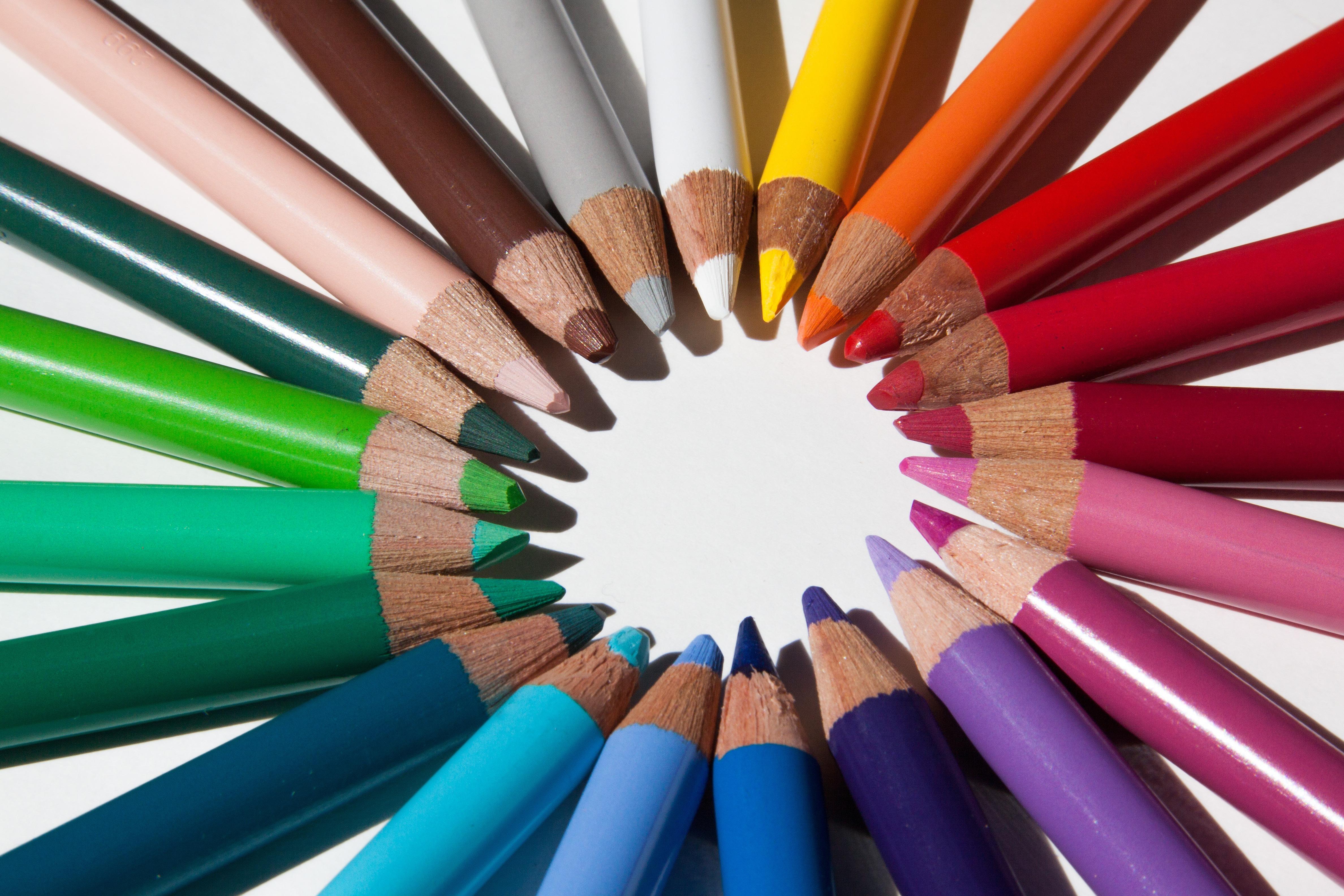 Gambar Bintang Warna Warni Merapatkan Sketsa Seri Bentuk