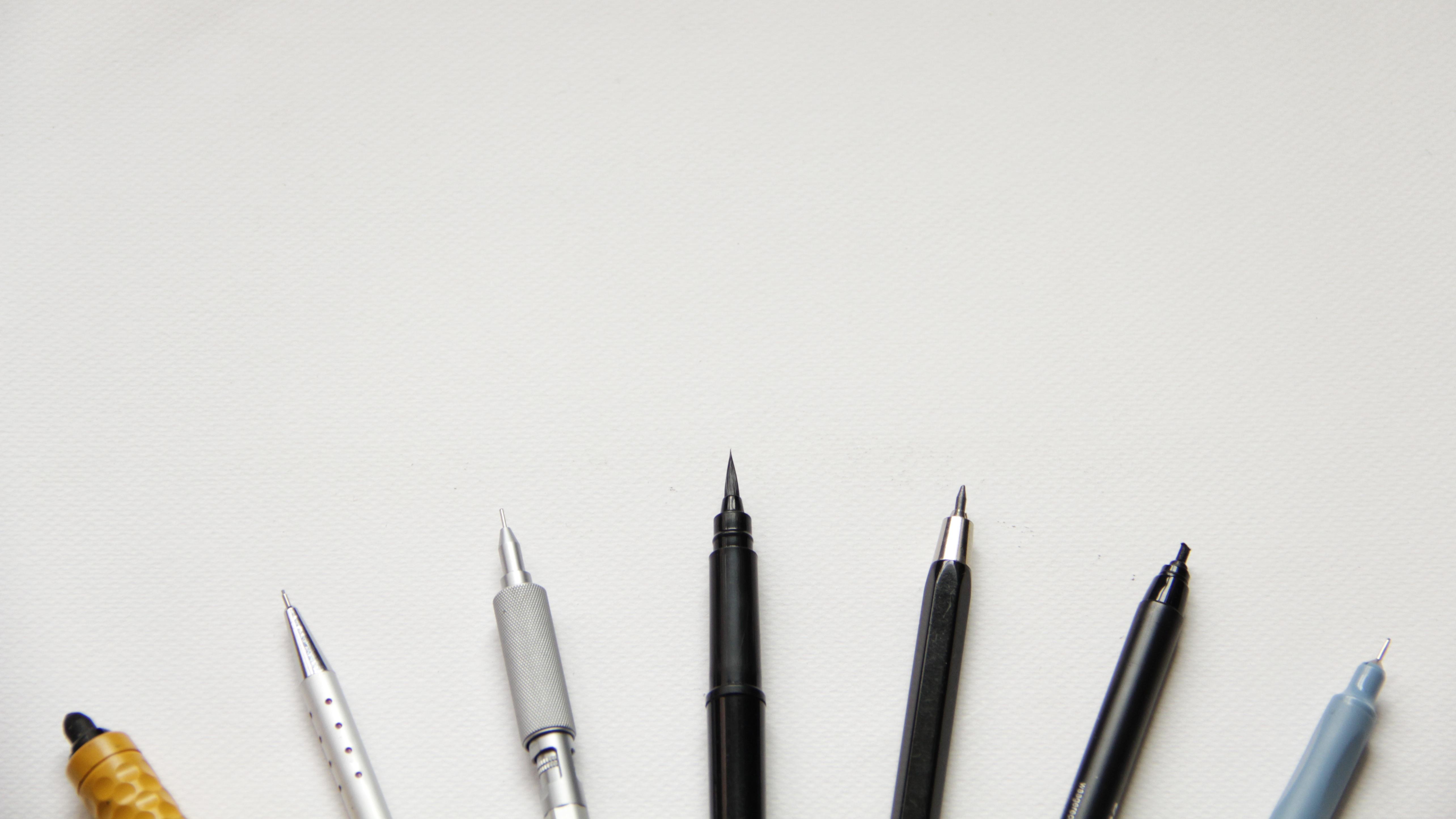 Gambar Pensil Pena Alat Peralatan Artis Kosong