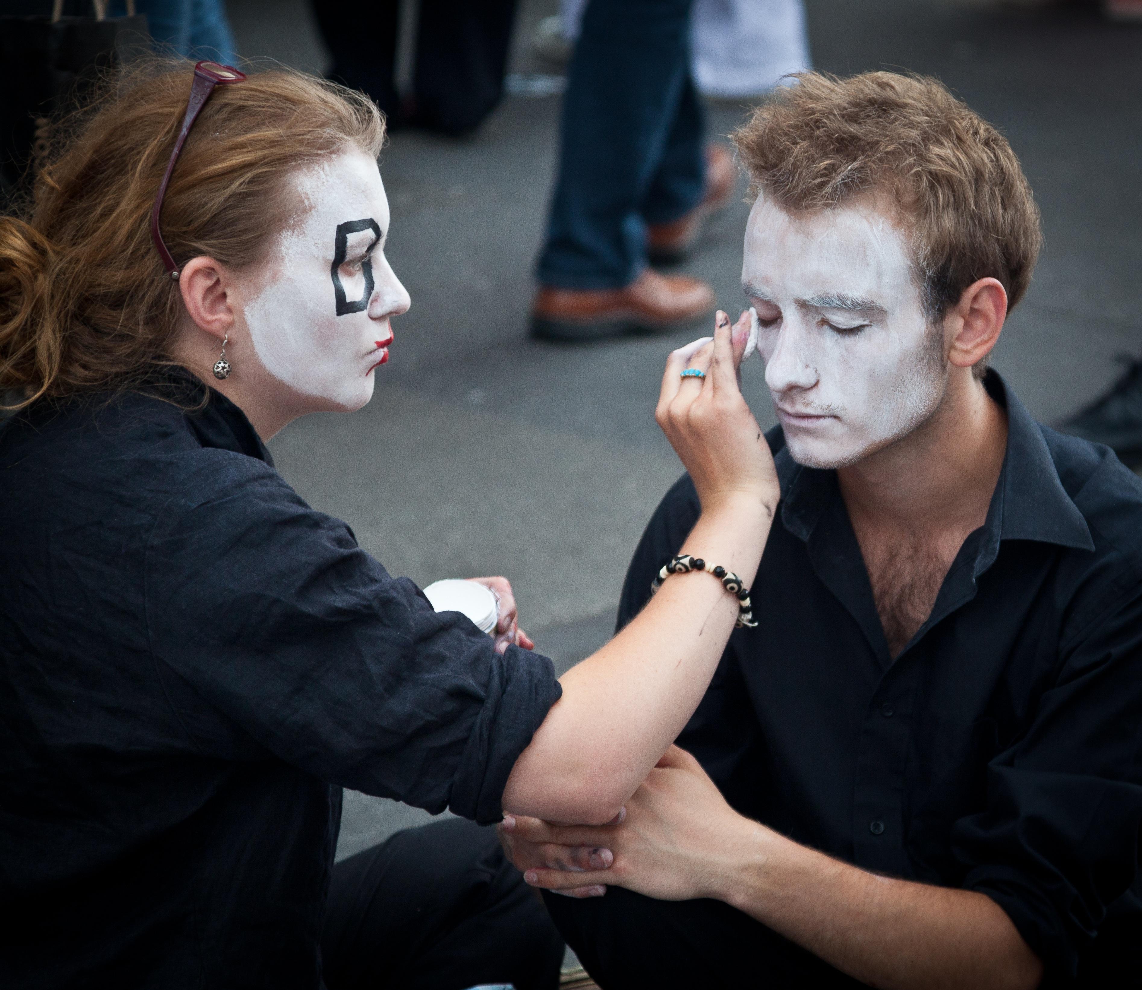 Fotos gratis : gente, artista, Pareja, humano, Moda, maquillaje ...