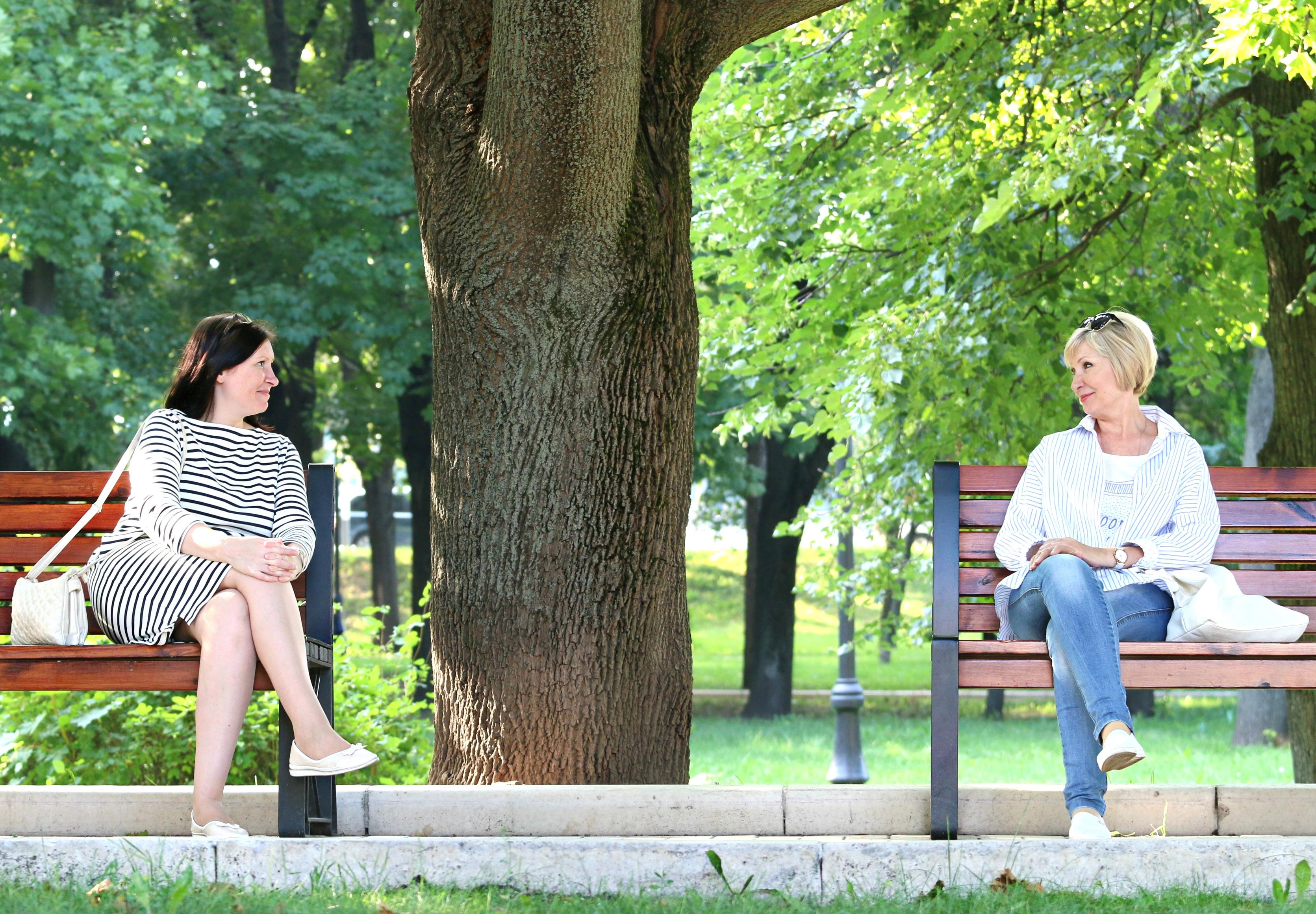 Картинки людей в парке