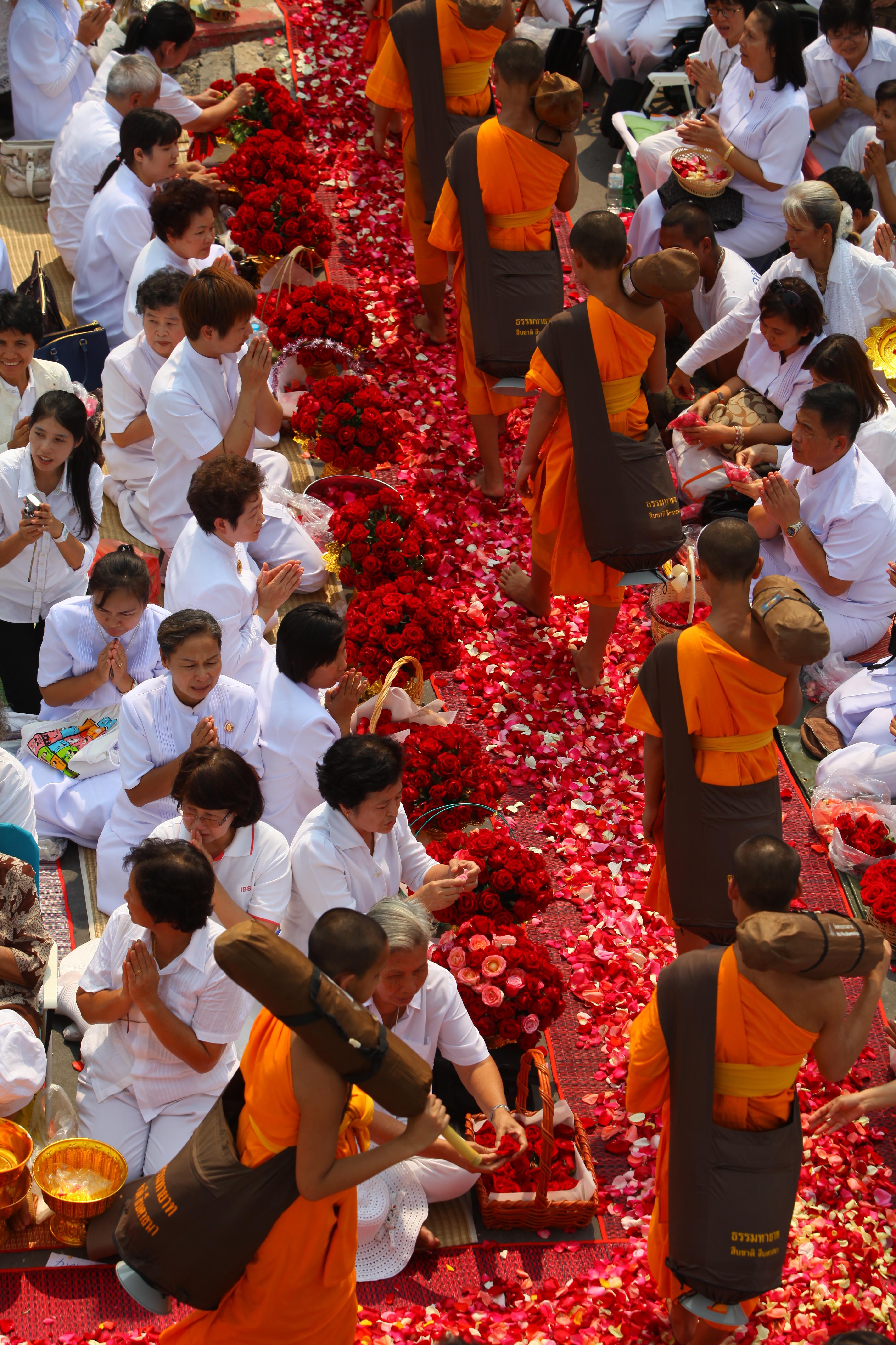 Free Images People City Crowd Walk Orange Buddhism Market