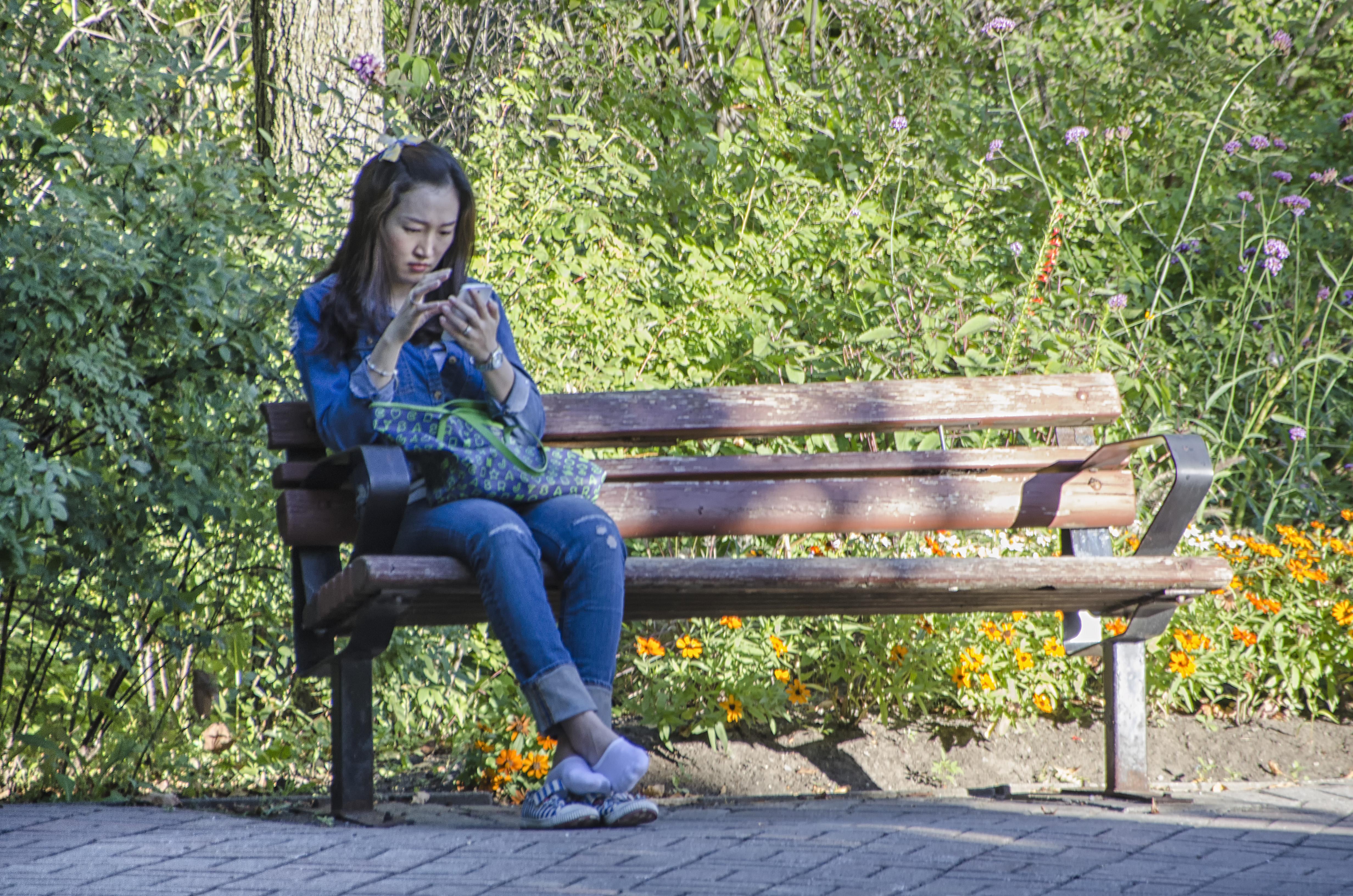 фото людей в парке руси