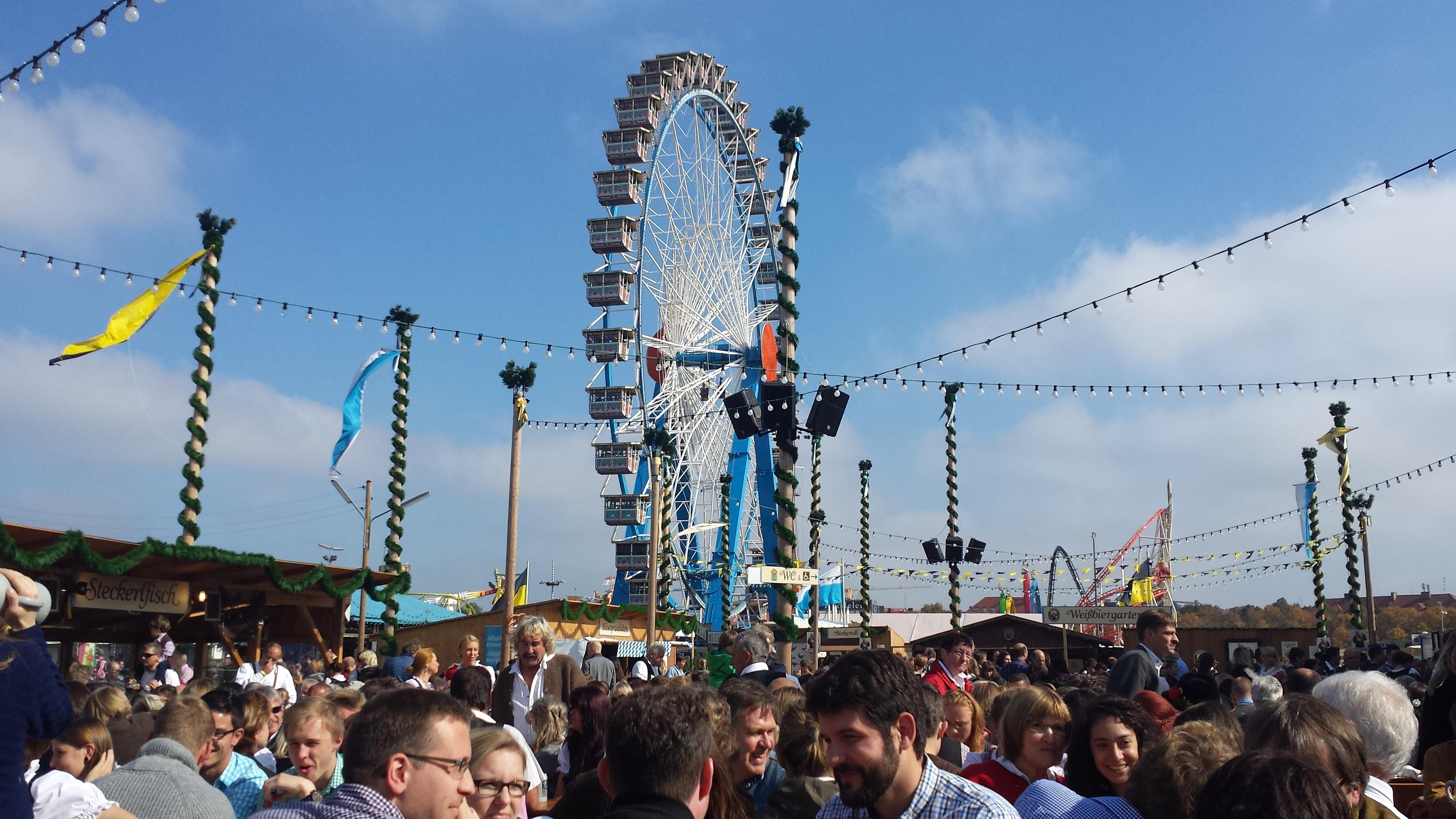Free Images : people, crowd, pole, ferris wheel, carnival ...
