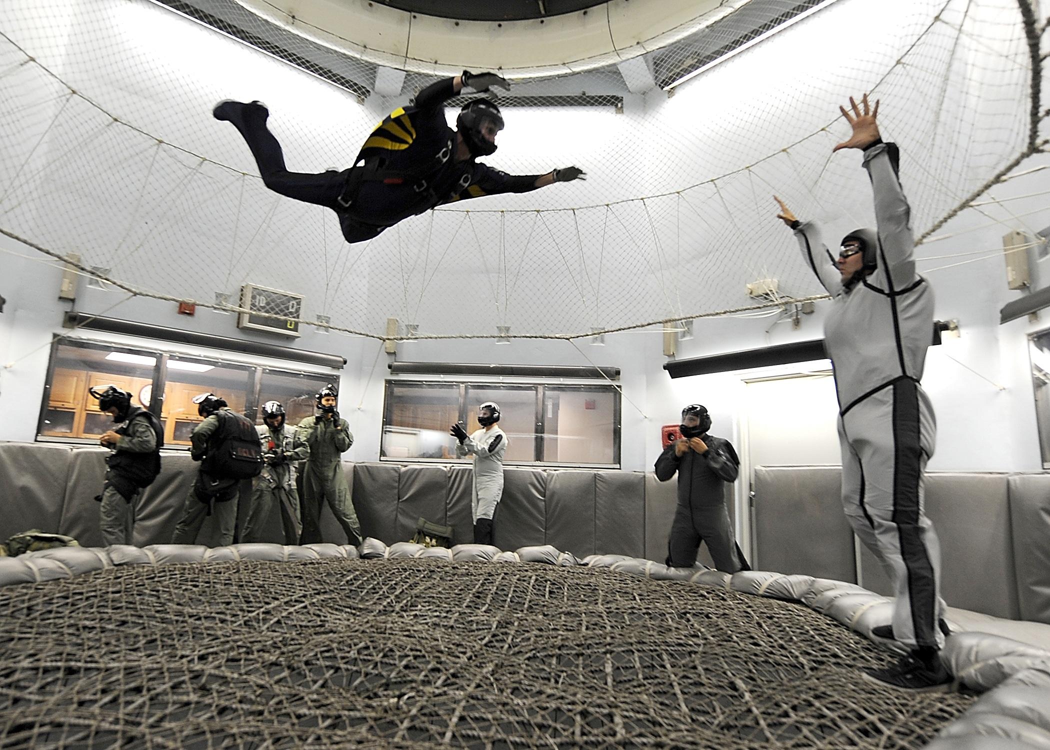 parachutisme interieur