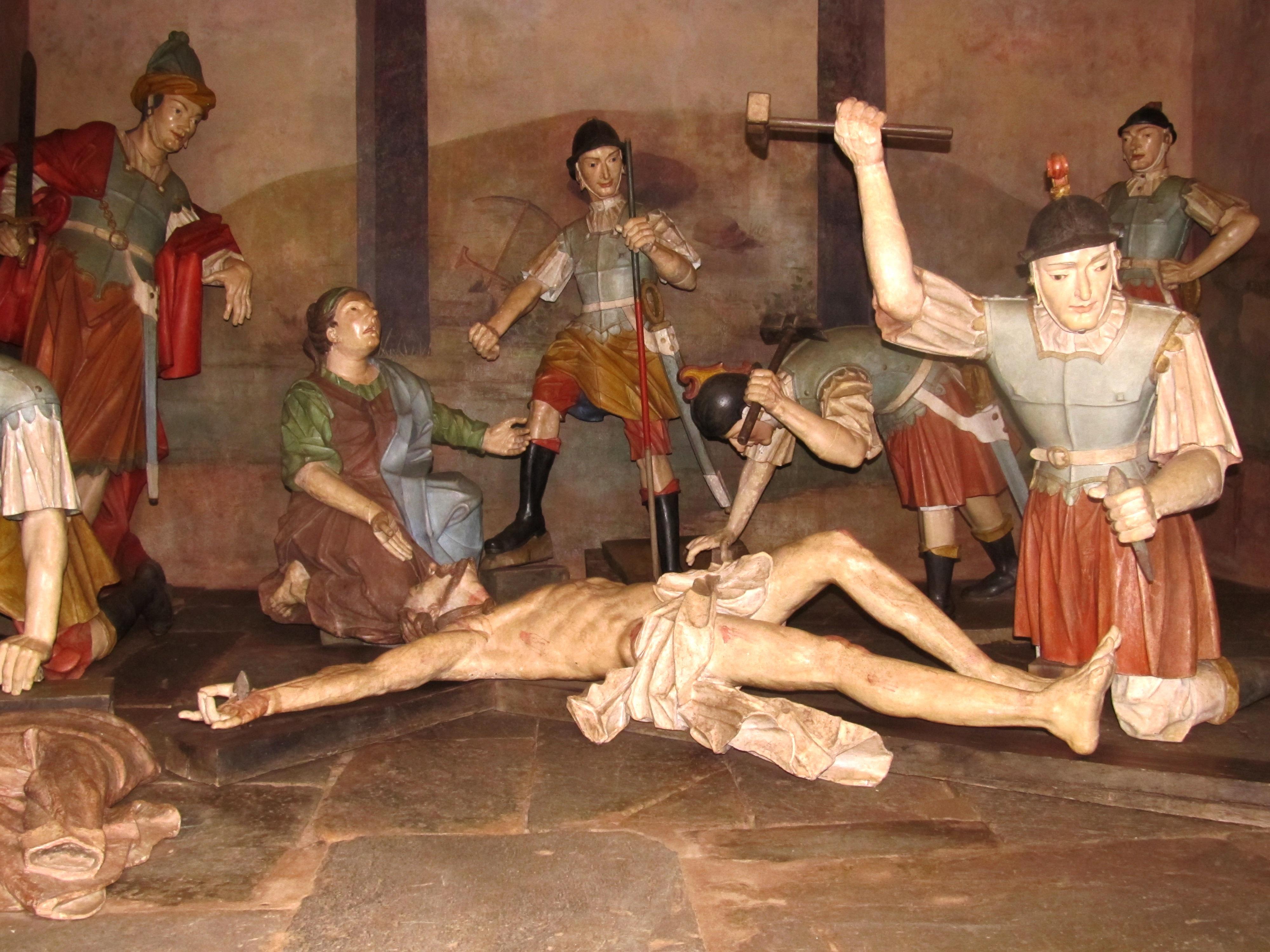 Excepcional Banco de imagens : pessoas, religião, pintura, Decoração de Natal  QC46