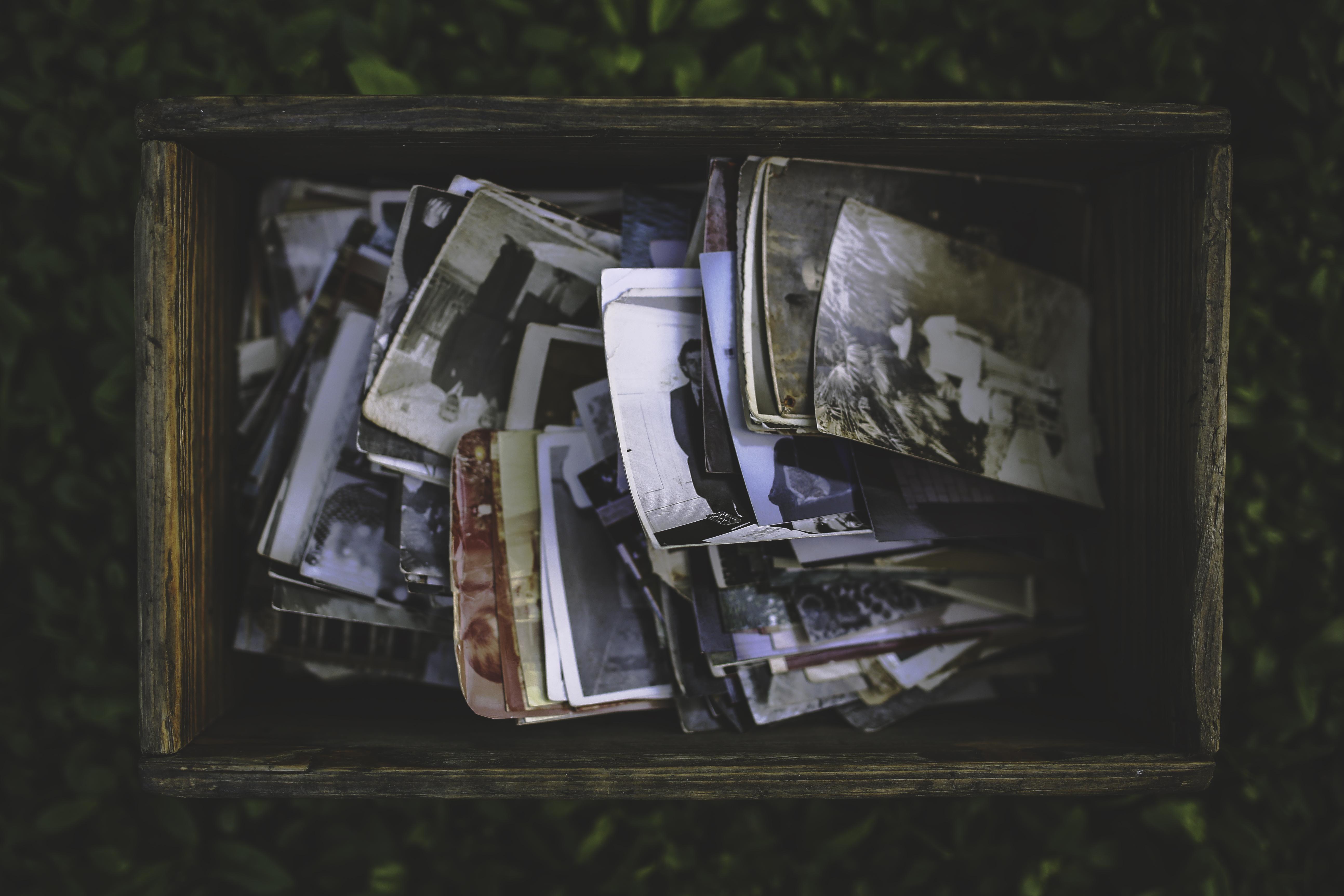 Fotos gratis : gente, vendimia, Retro, antiguo, foto, caja, pintura ...