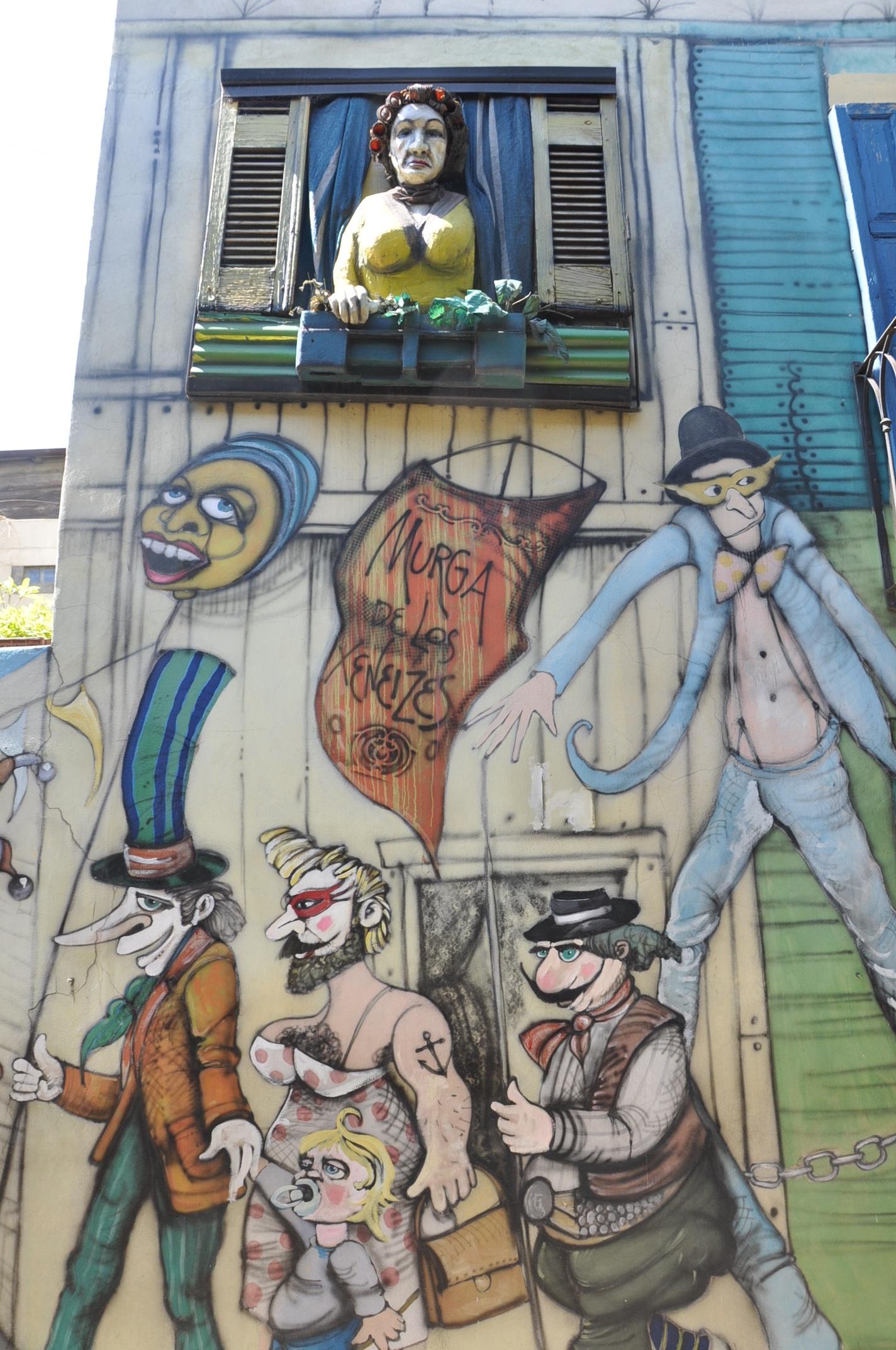 Gambar Orang Orang Jendela Coretan Seni Jalanan Seni Urban